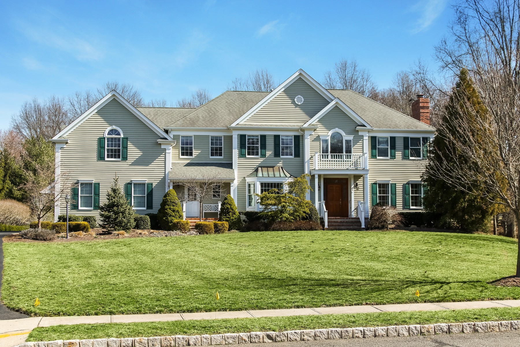 Single Family Home for Sale at Custom Center Hall Colonial 24 N Stone Hedge Drive Basking Ridge, New Jersey 07920 United States