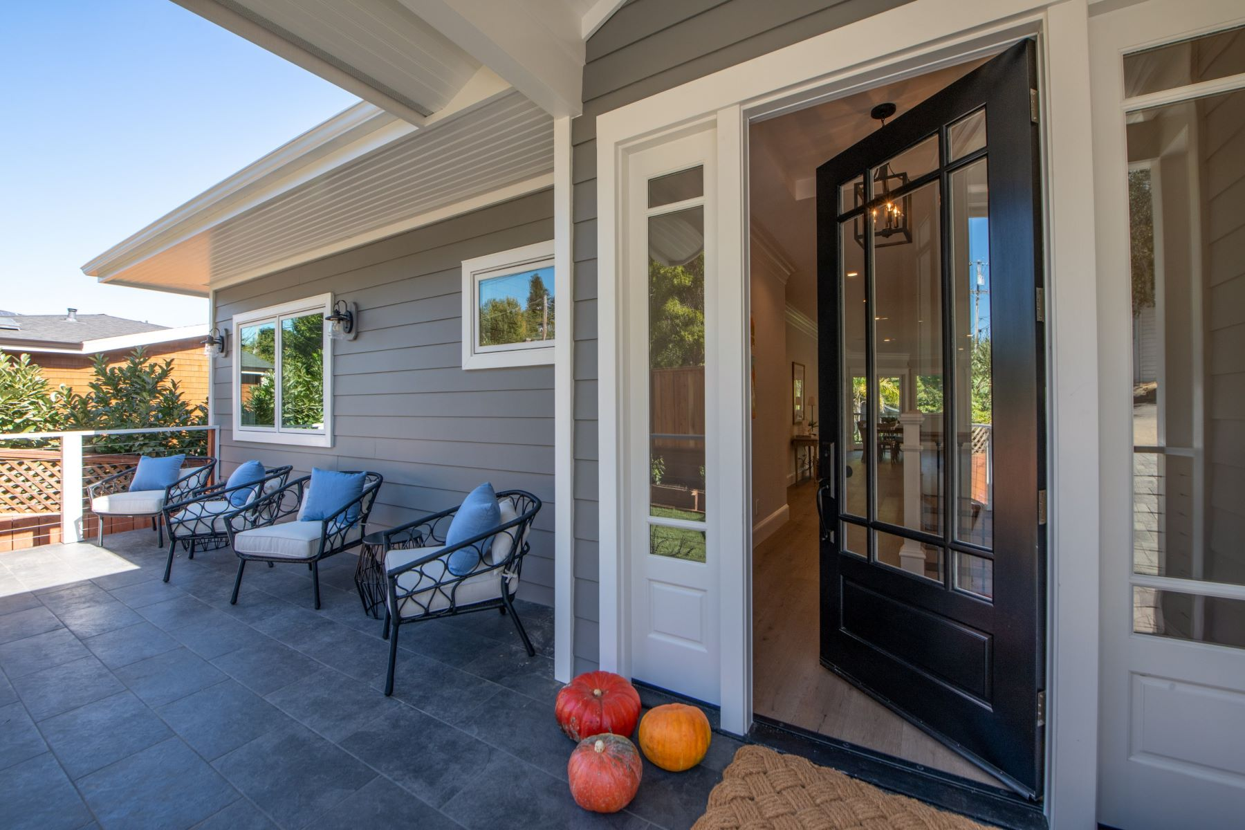 Single Family Homes for Sale at Just Completed Farm House 122 Grove Avenue Corte Madera, California 94925 United States