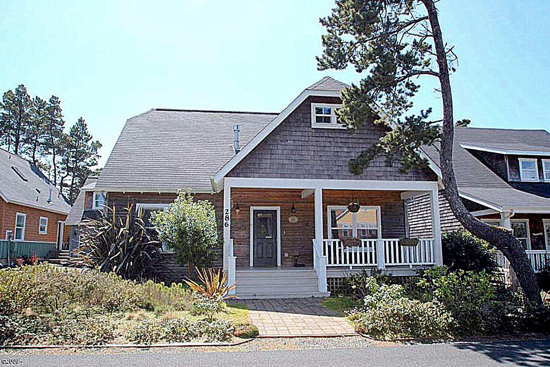 Single Family Homes pour l Vente à Shared Ownership: Beach Cottage 286 Bella Beach Drive, Depoe Bay, Oregon 97341 États-Unis