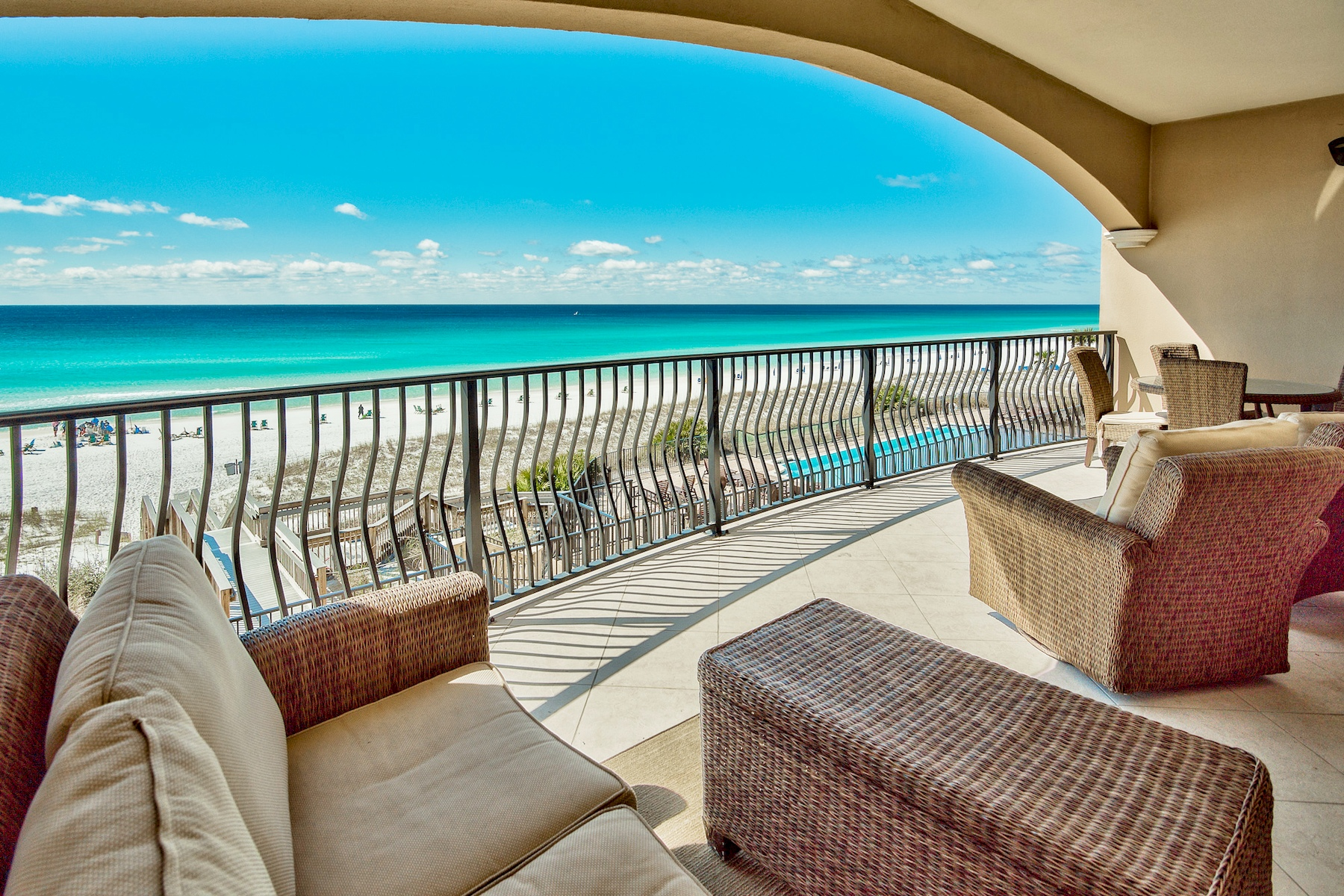 Condominium for Sale at Gulf-front Condo on 2nd Floor of Desirable Waterfront Building 3016 Scenic Highway 98 204, Villa Coyaba, Destin, Florida, 32541 United States