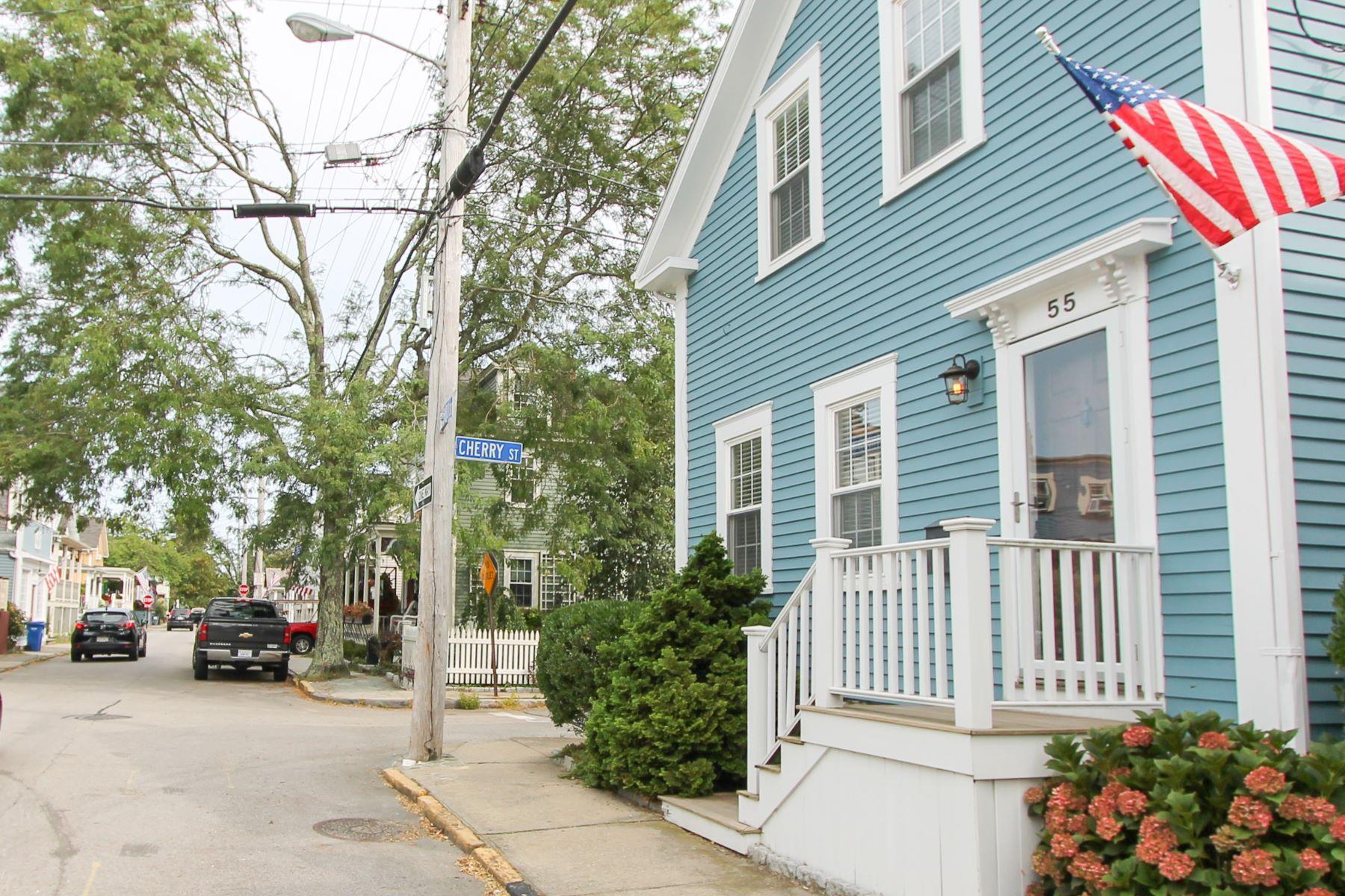 Dalton E. Young House 55 Third Street Newport, Rhode Island 02840 Estados Unidos