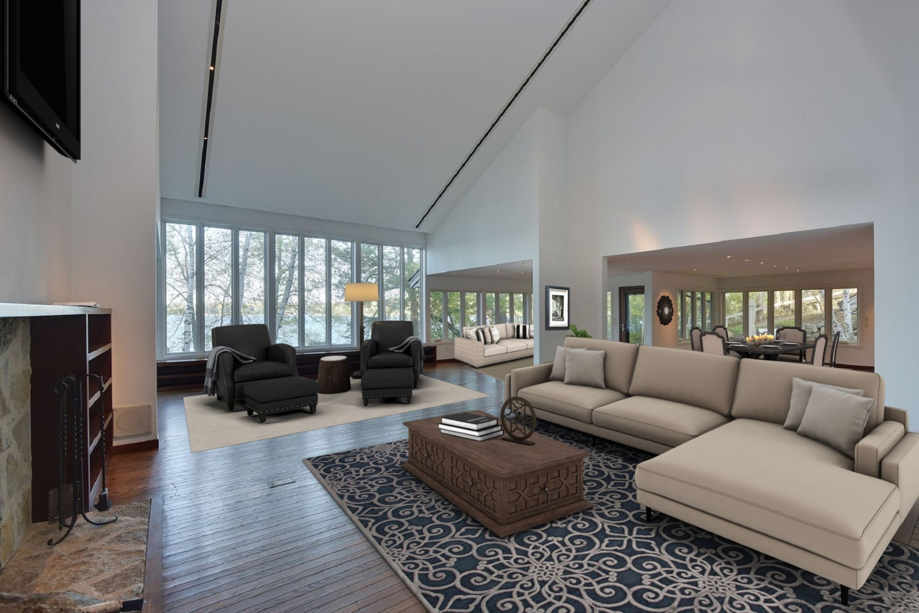 Additional photo for property listing at Pine Lake Contemporary 5975 Cedarhurst Ln Hartland, Wisconsin 53029 United States