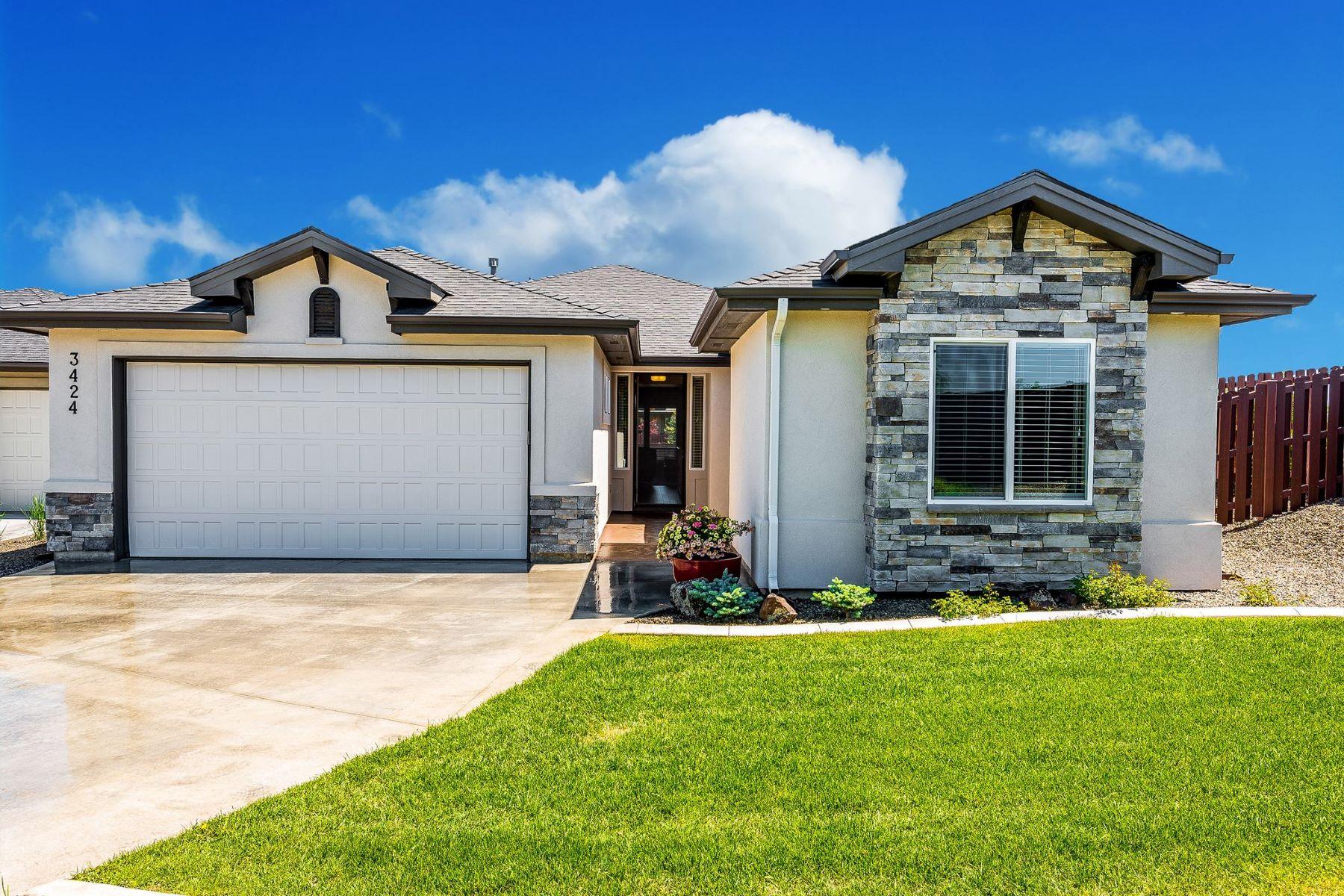 Maison unifamiliale pour l Vente à 3424 Fox Leash Place, Eagle 3424 S Fox Leash Pl Eagle, Idaho, 83616 États-Unis