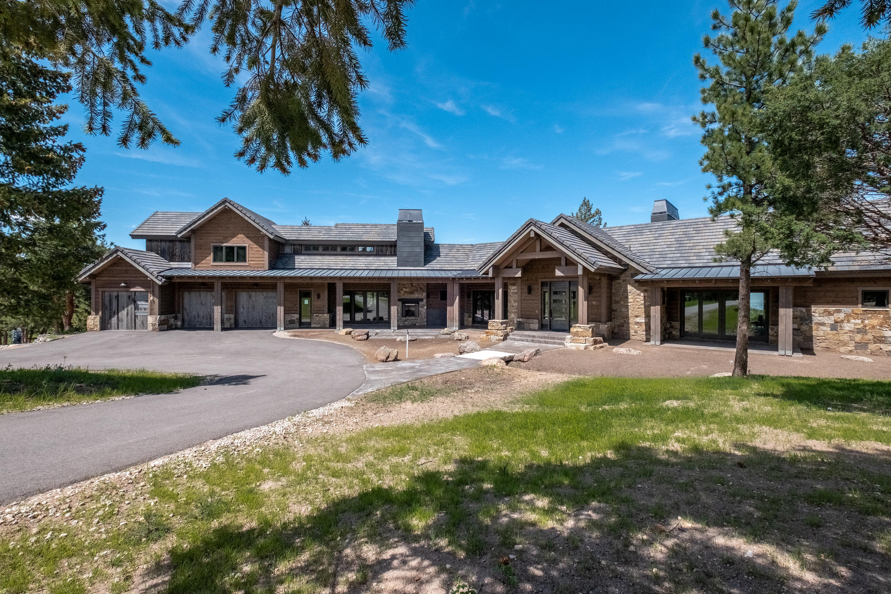 Single Family Homes for Sale at Architecturally appealing, cutting edge new construction 6135 Northway Drive, Morrison, Colorado 80465 United States