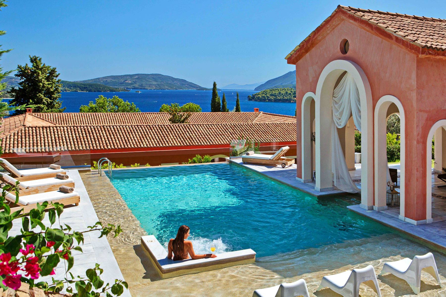 Single Family Homes 为 销售 在 Perigiali The Venetian Lefkada, Lefkada 31100 希腊