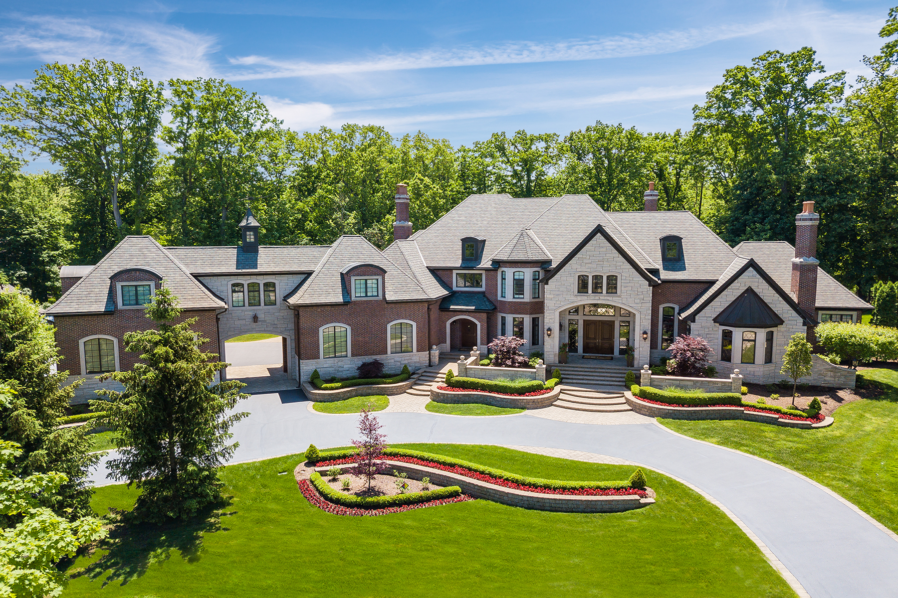 Single Family Homes for Active at Bloomfield Hills 592 Barrington Park Drive Bloomfield Hills, Michigan 48304 United States