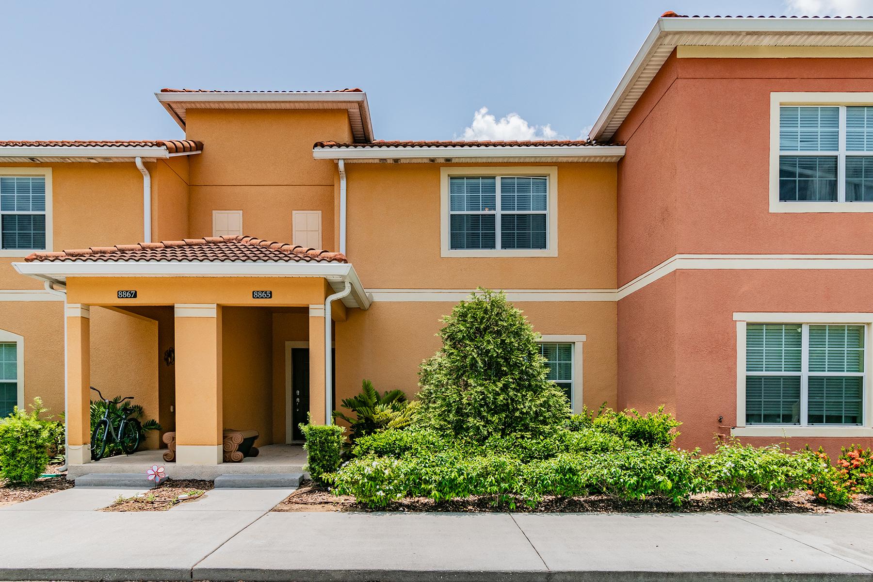 townhouses für Verkauf beim KISSIMMEE-ORLANDO 8865 Candy Palm Rd, Kissimmee, Florida 34747 Vereinigte Staaten