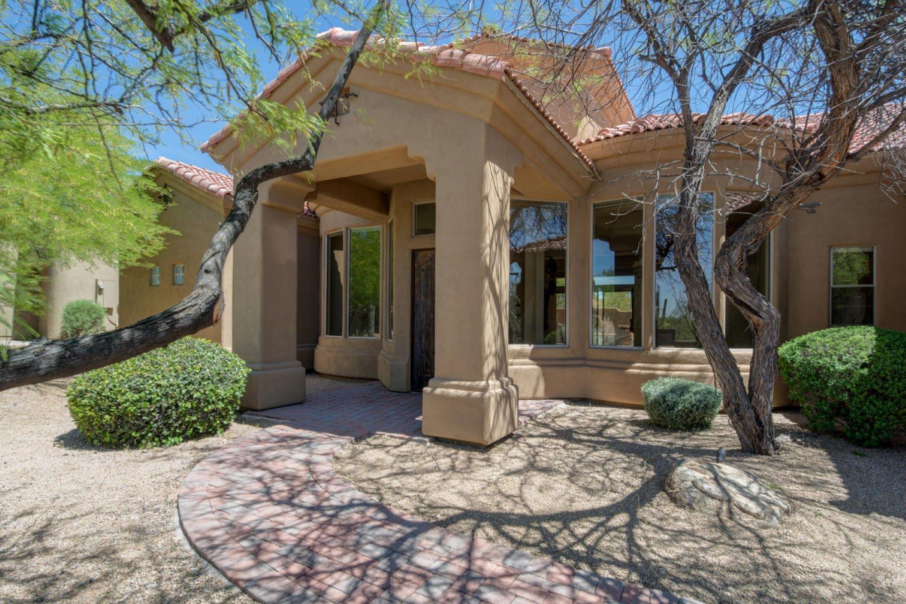 Casa para uma família para Venda às Lowest priced Custom Built home in Candlewood Troon North 10954 E Southwind Ln Scottsdale, Arizona, 85262 Estados Unidos
