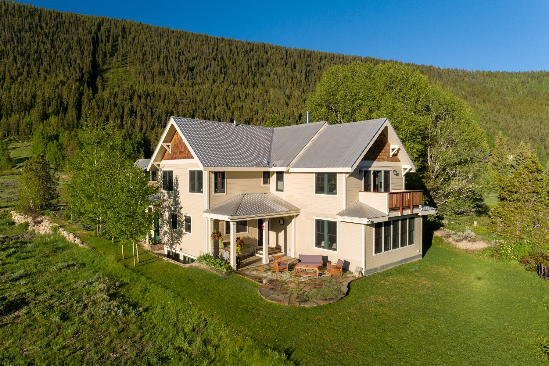 """Single Family Homes for Sale at Expansive Views from """"the Bench"""" 512 Journeys End Road, Crested Butte, Colorado 81224 United States"""