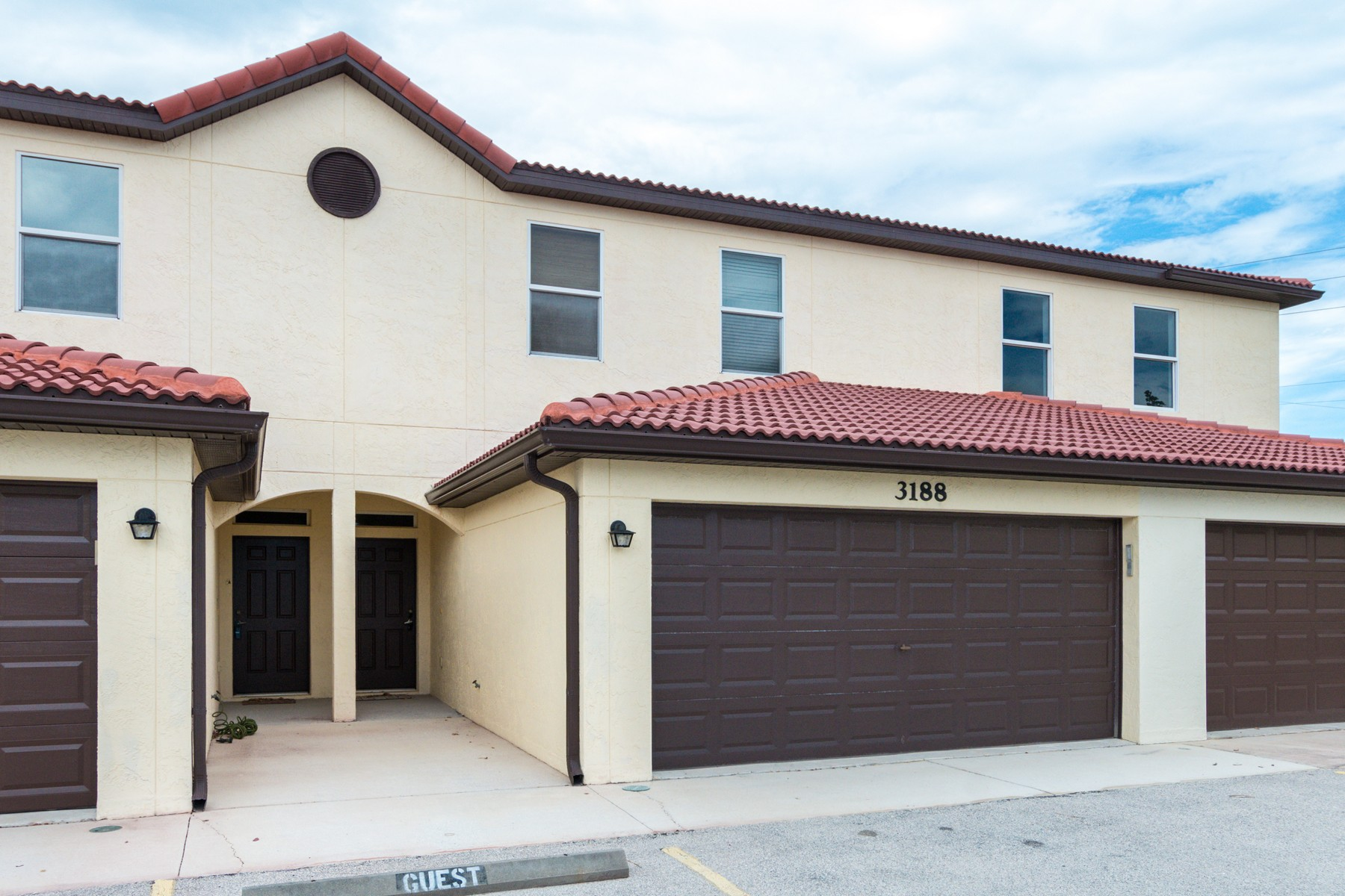 Townhouse for Sale at Townhome in Beach Woods 3188 Ricks Way Melbourne, Florida 32951 United States