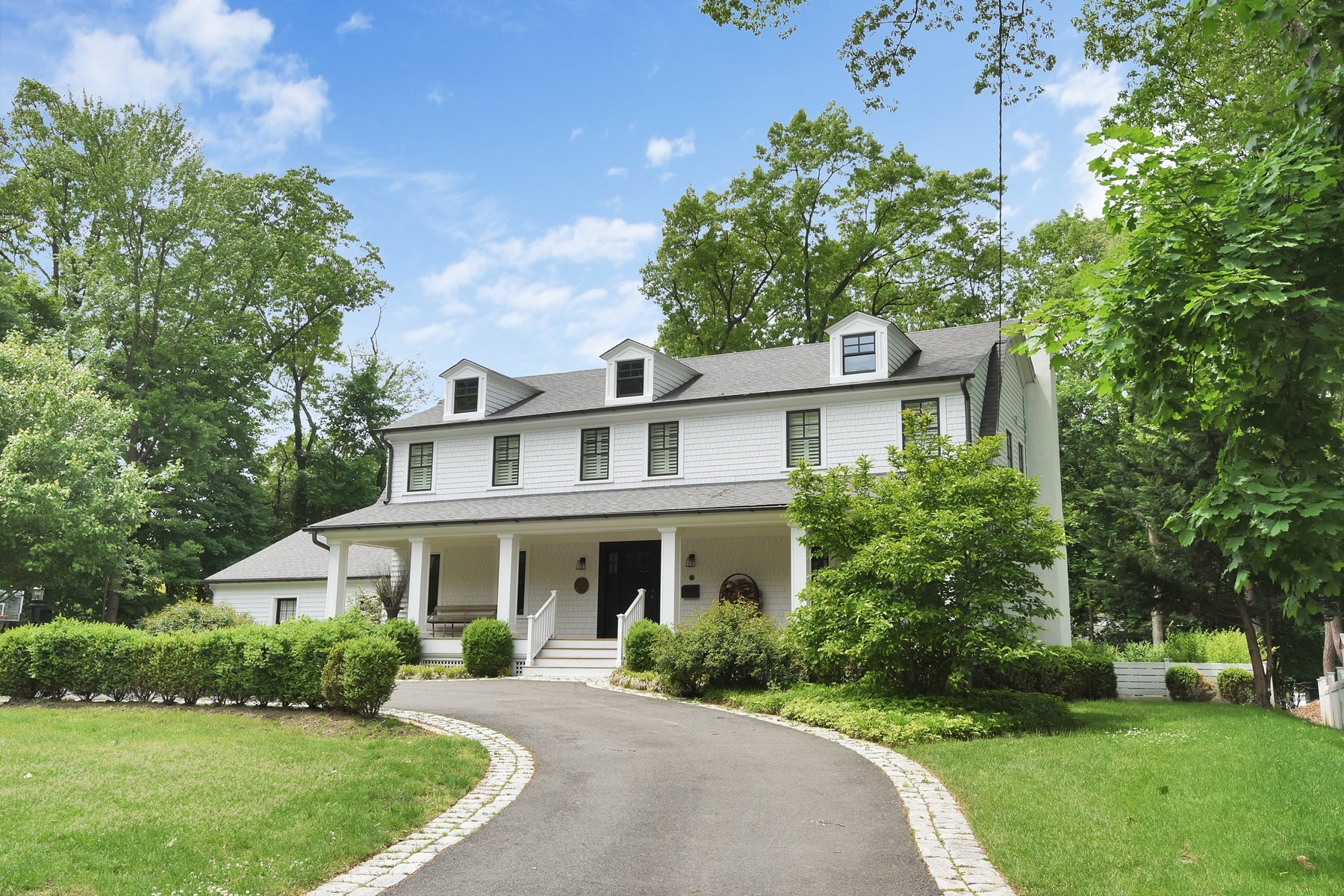 Single Family Homes for Sale at One of a Kind Classic Center Hall Colonial 6 St Albans Pl Haworth, New Jersey 07641 United States