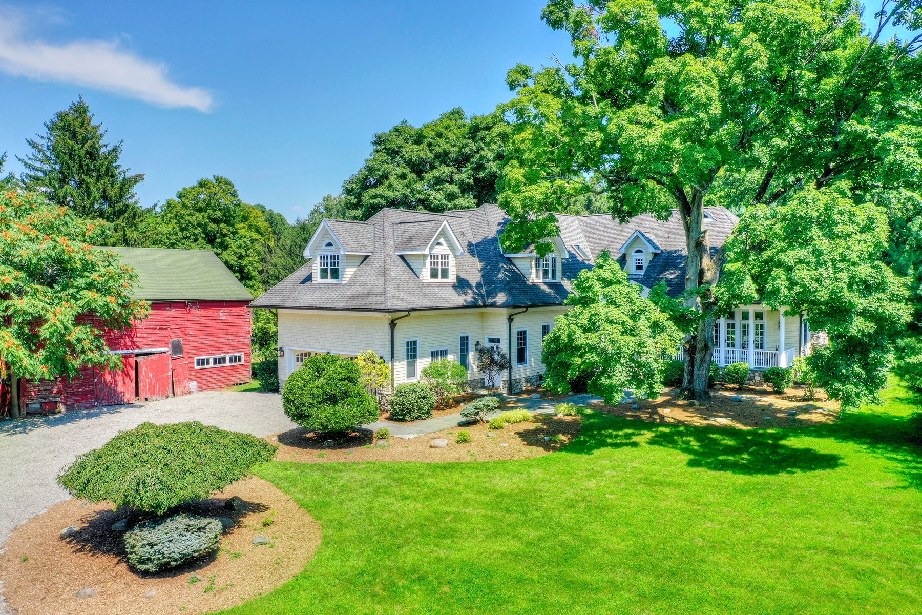Single Family Homes for Sale at Shingle Style Retreat 97 E Saddle River Rd. Saddle River, New Jersey 07458 United States
