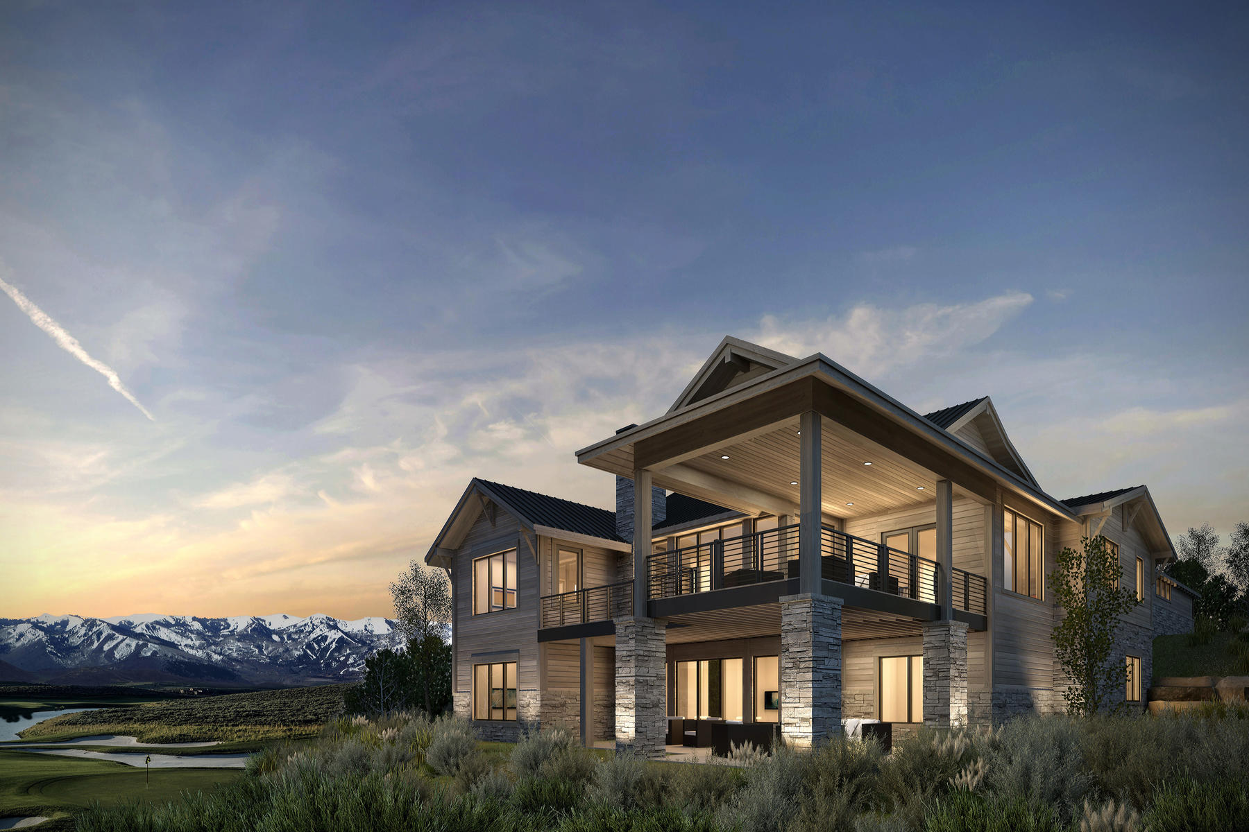 Single Family Home for Sale at Incredible homesite on Promontory's Nicklaus Golf Course 6791 W Golden Bear Lp Lot 49 Park City, Utah 84098 United States