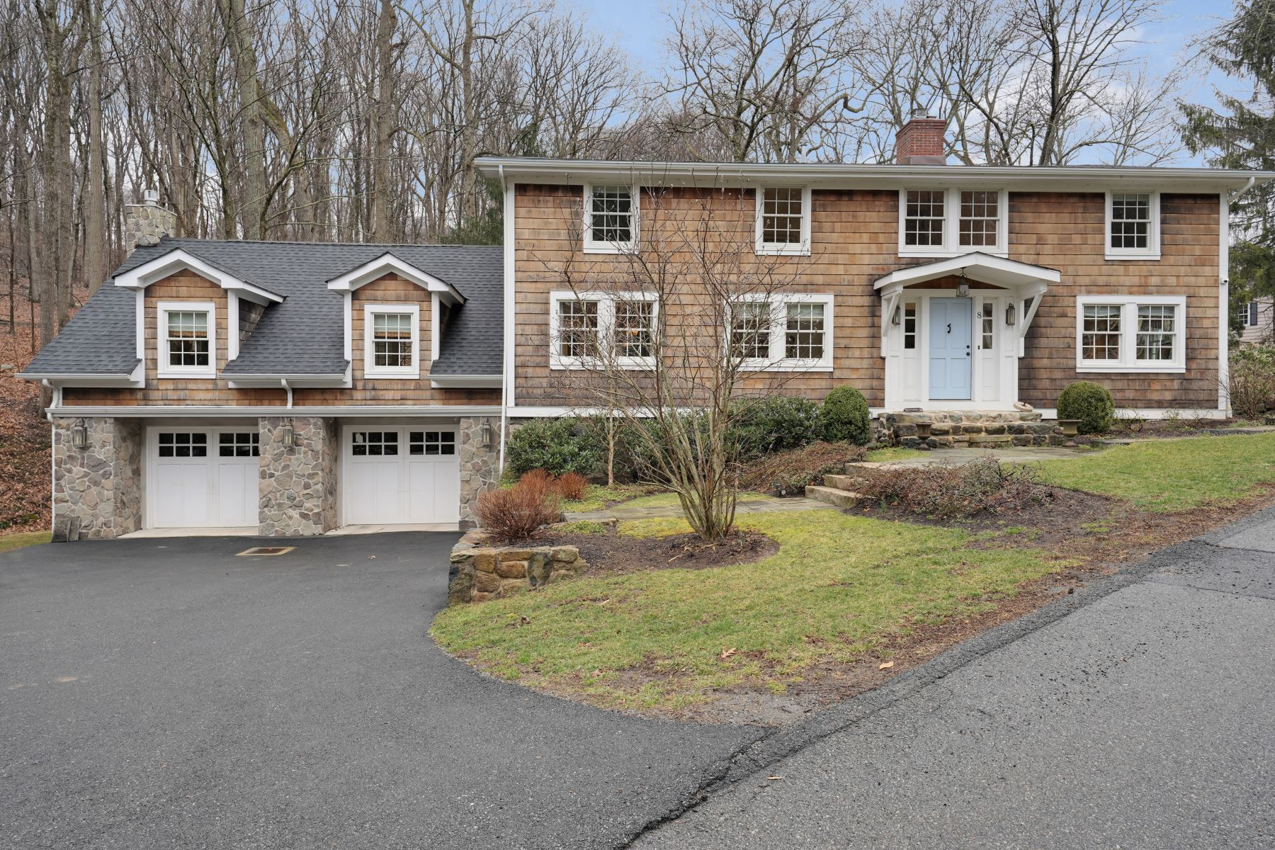 Single Family Homes for Sale at Complete Renovation 8 Woodland Road Mendham, New Jersey 07945 United States