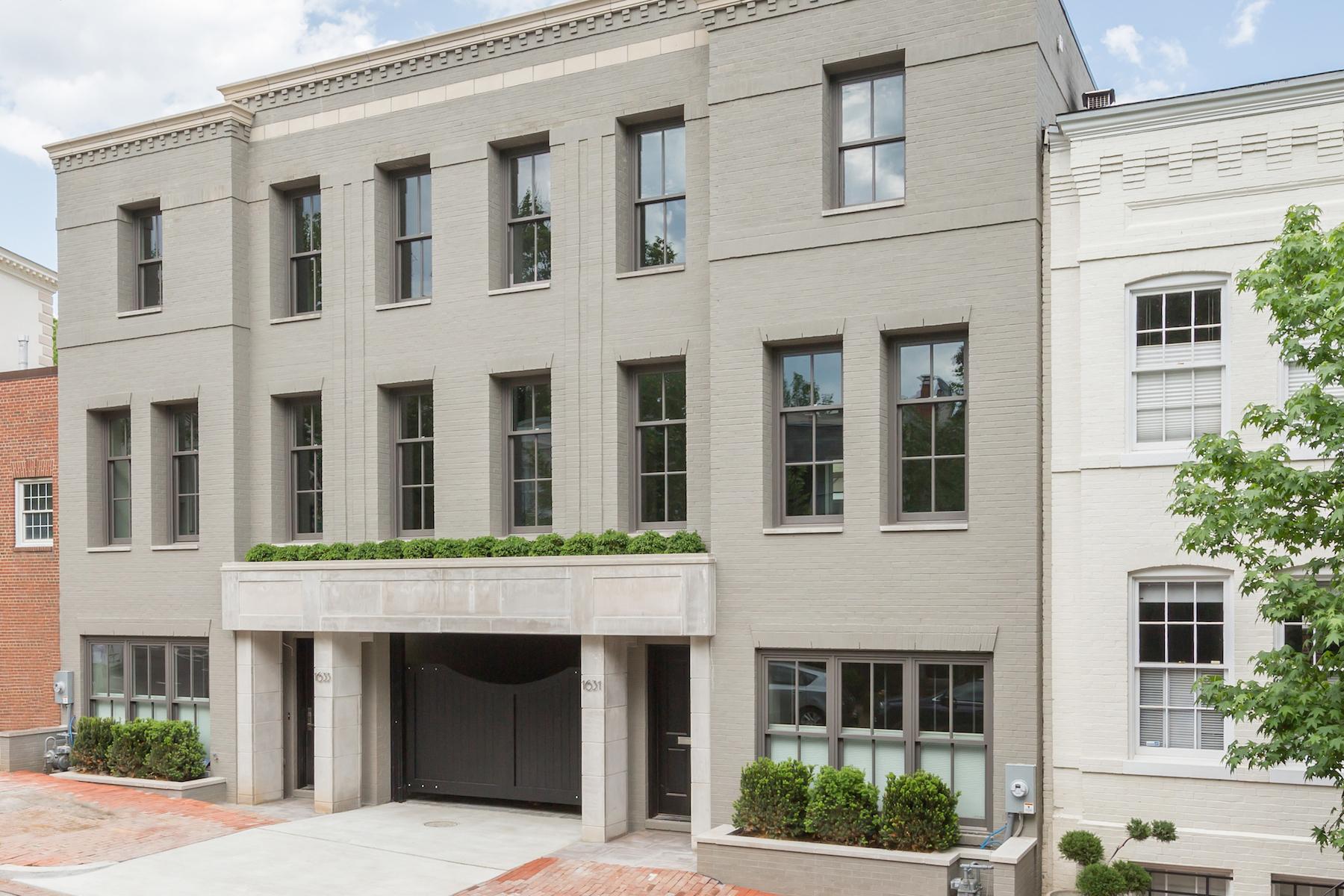 联栋屋 为 销售 在 Georgetown 1633 33rd Street Nw Georgetown, 华盛顿市, 哥伦比亚特区, 20007 美国