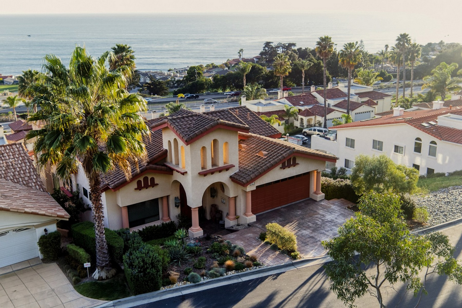 Single Family Home for Sale at Ocean View Spanish-Style Home 2101 Costa Brava Way Pismo Beach, California 93449 United States