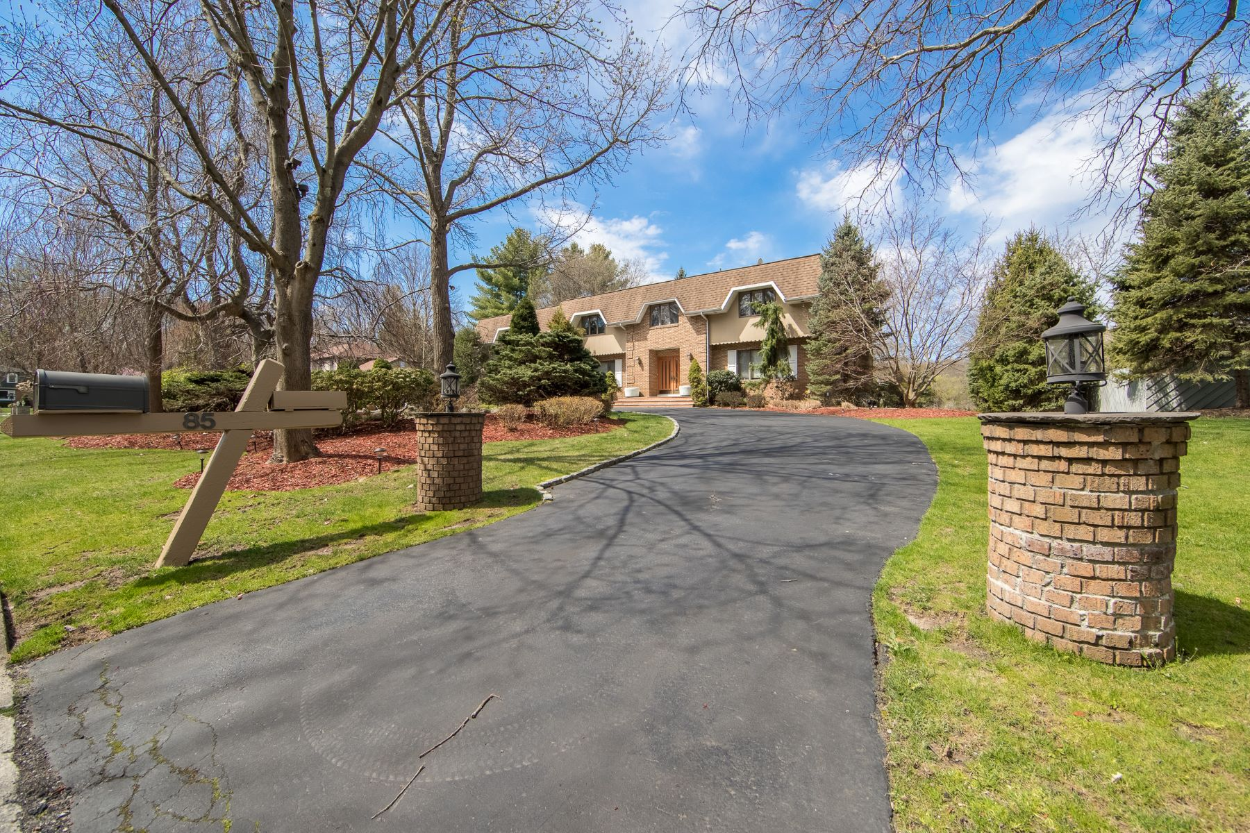 Single Family Home for Sale at French Manor style Colonial 85 Dyer Court, Norwood, New Jersey 07648 United States