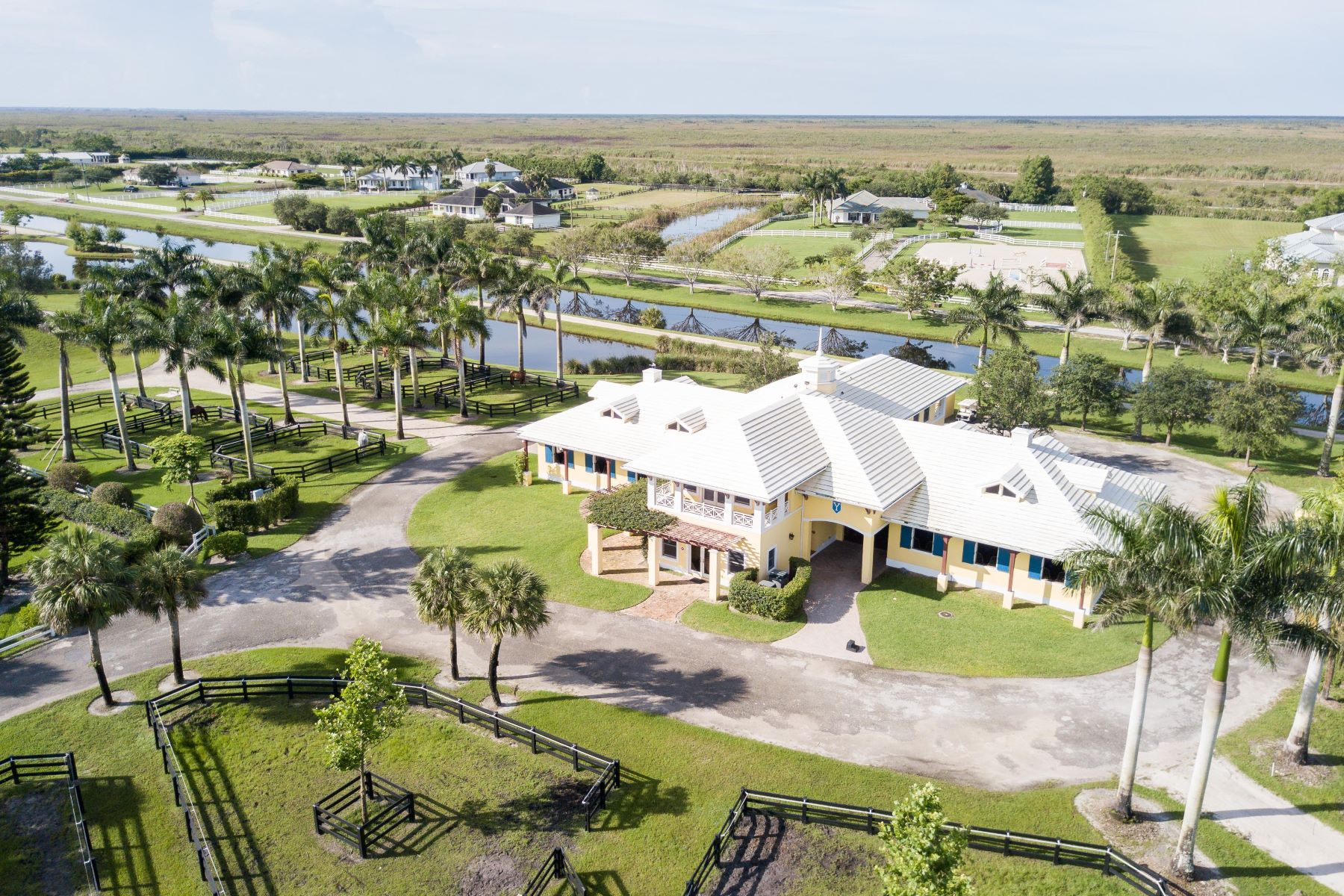 Farm / Ranch / Plantation for Sale at Equestrian Facility in Wellington 4741 Garden Point Trail Wellington, Florida 33414 United States