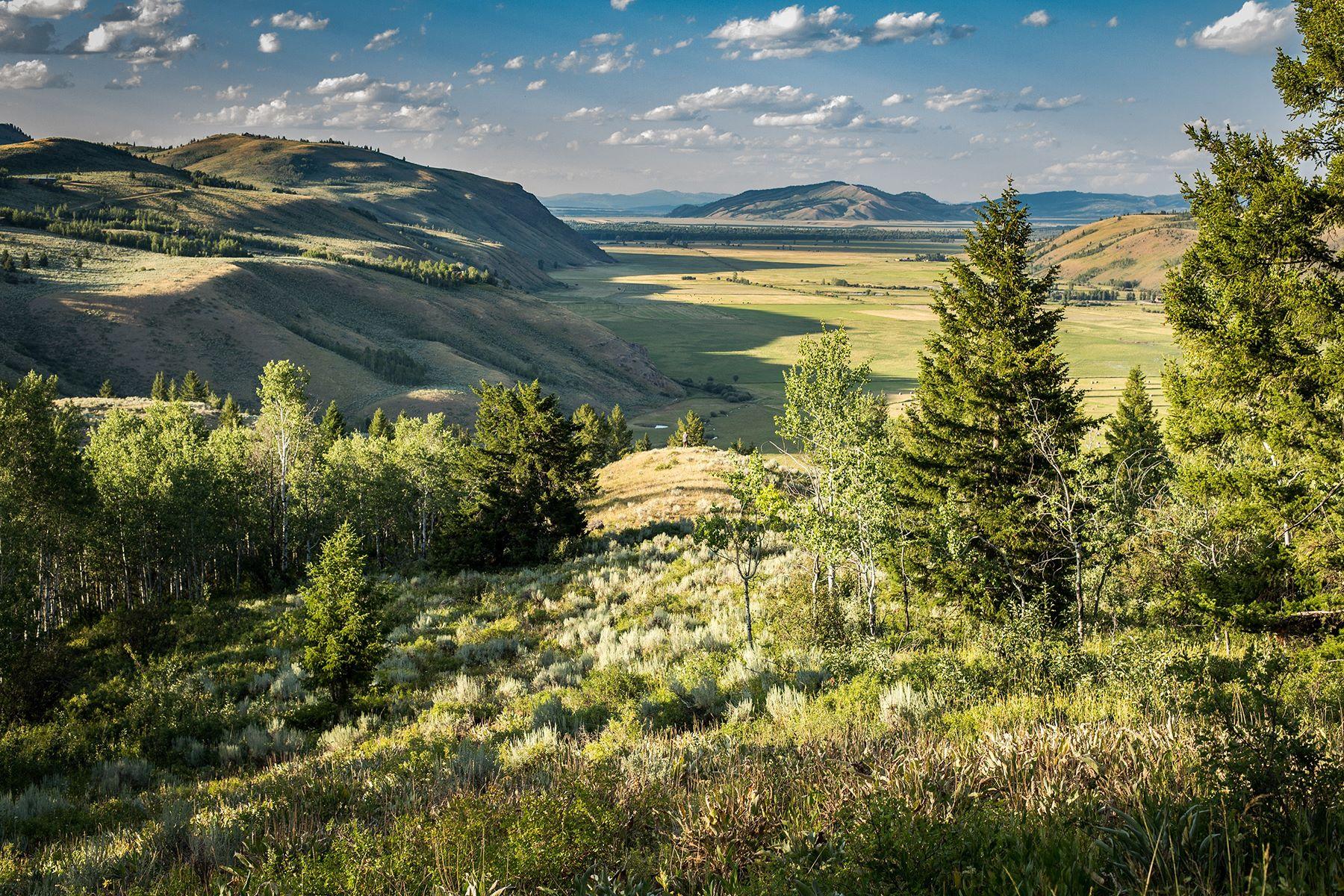 Земля для того Продажа на Vogel Hill Ranch 5 300 Red Tail Butte Road, Jackson, Вайоминг 83001 Соединенные Штаты