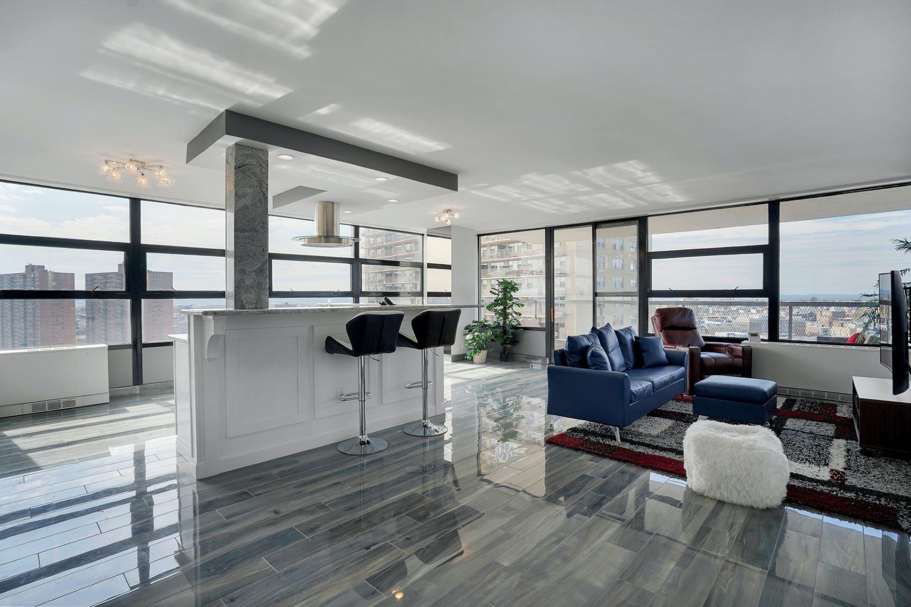 Condominiums 为 销售 在 Tower West 6050 Blvd East #20G, 西纽约, 新泽西州 07093 美国