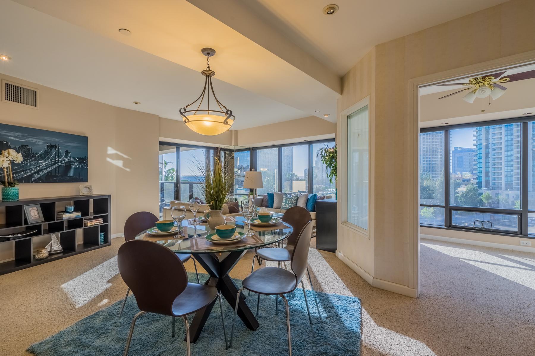 共管式独立产权公寓 为 销售 在 100 Harbor Drive 605 圣地亚哥, 加利福尼亚州, 92101 美国