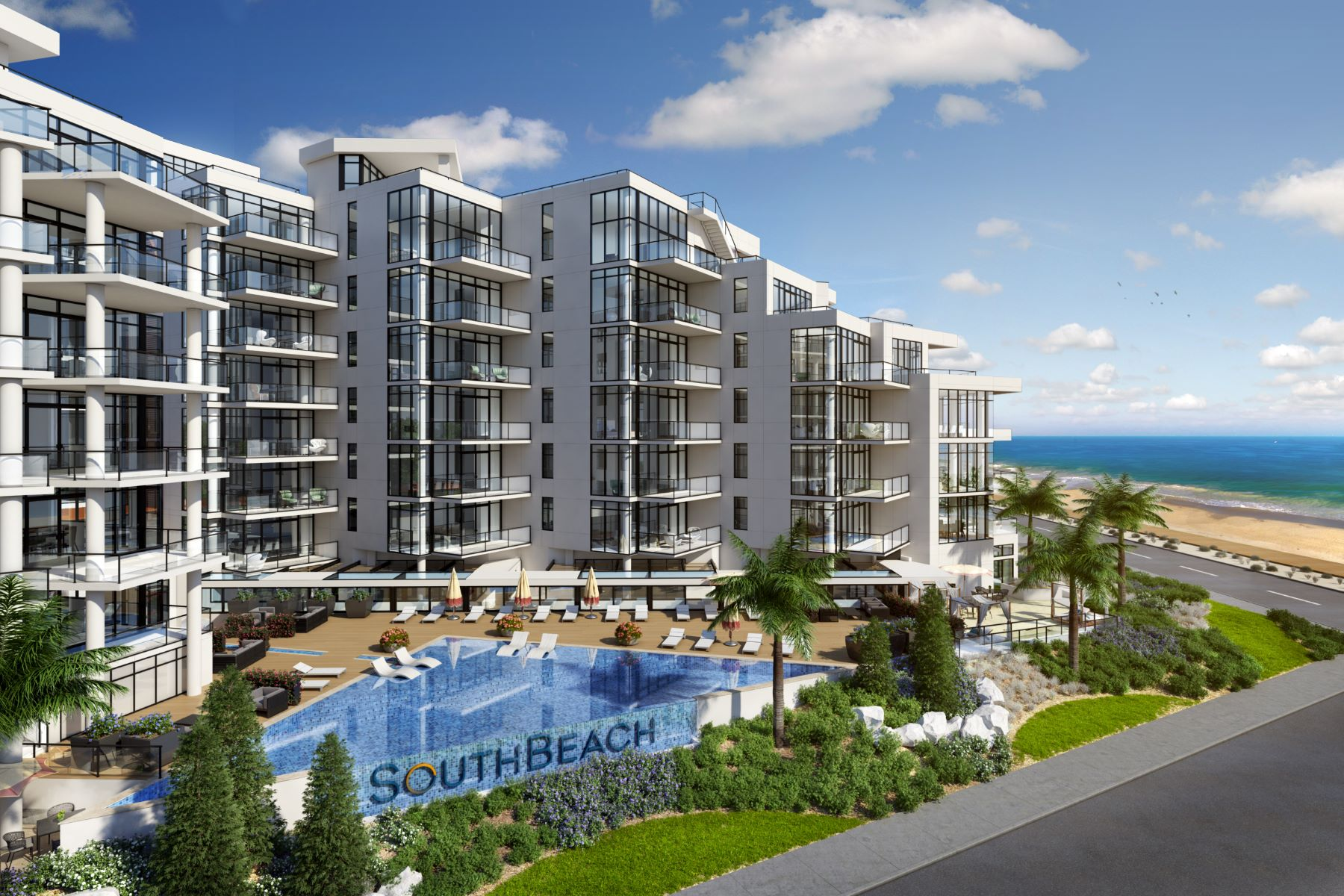 Condominiums por un Venta en South Beach at Long Branch 350 Ocean Avenue 801, Long Branch, Nueva Jersey 07740 Estados Unidos