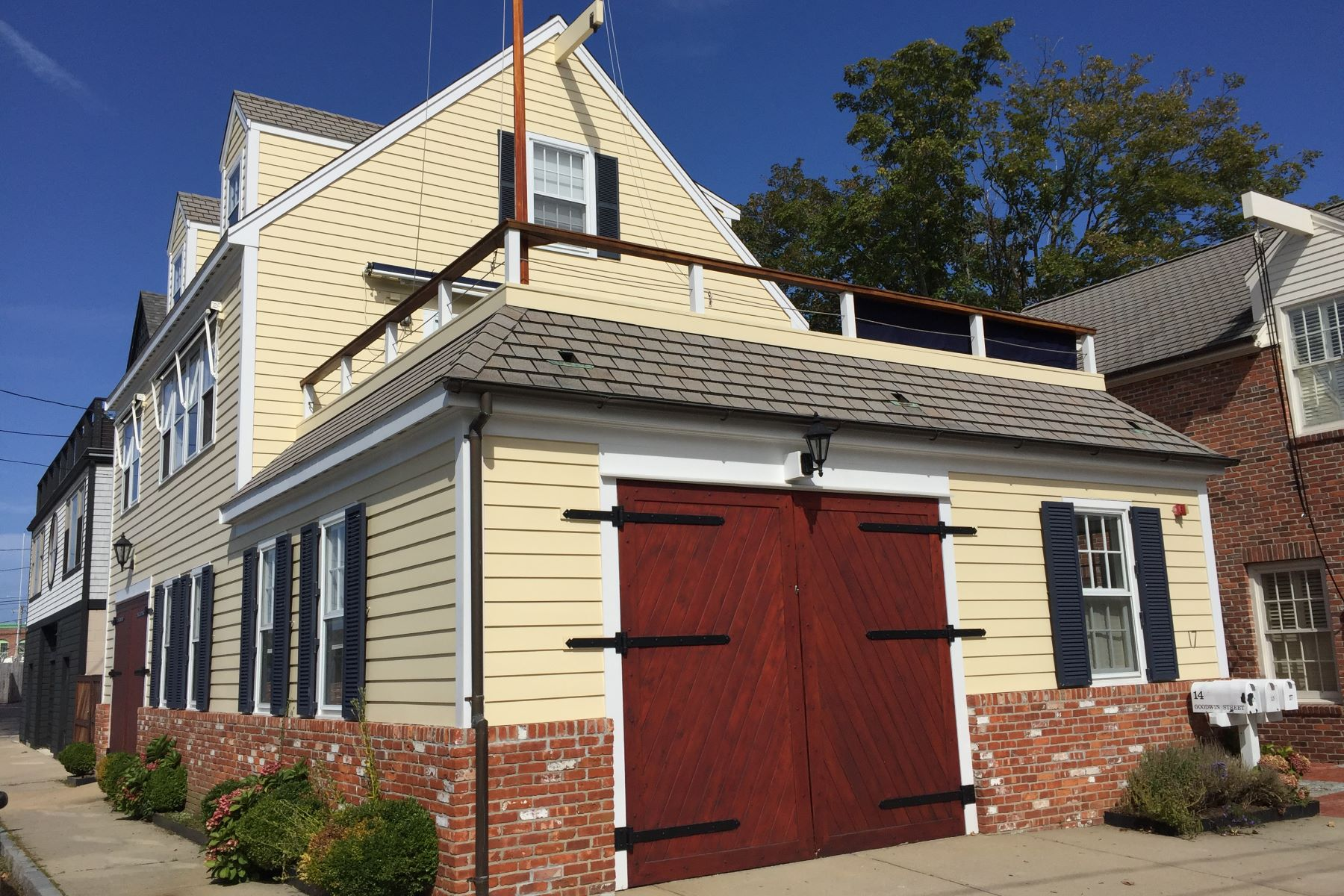 Single Family Home for Sale at Lower Thames Waterfront 17 Goodwin Street Newport, Rhode Island 02840 United States
