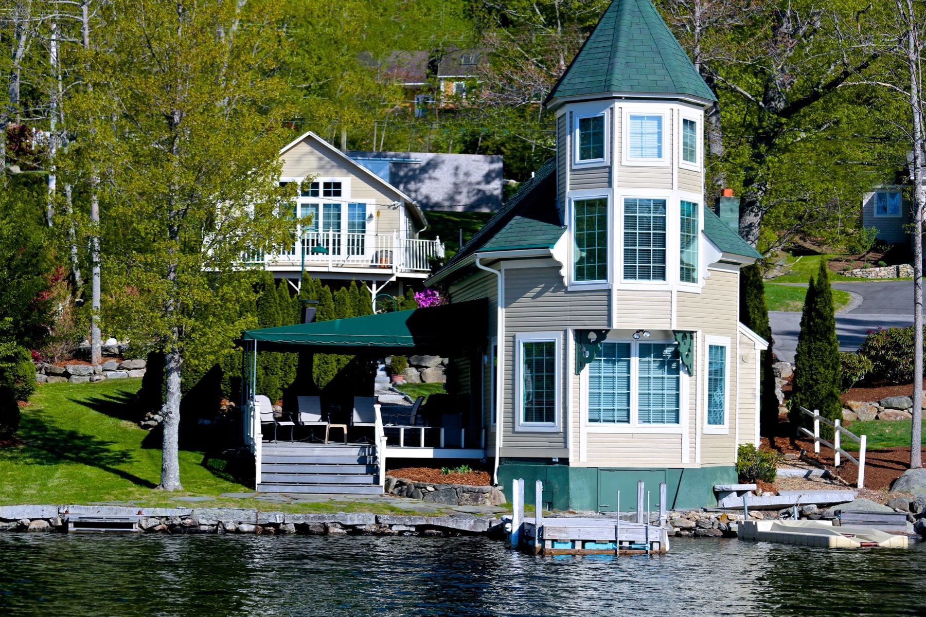 Single Family Home for Sale at Lake Sunapee Compound 45-47 Lake Ave Sunapee, New Hampshire 03782 United States