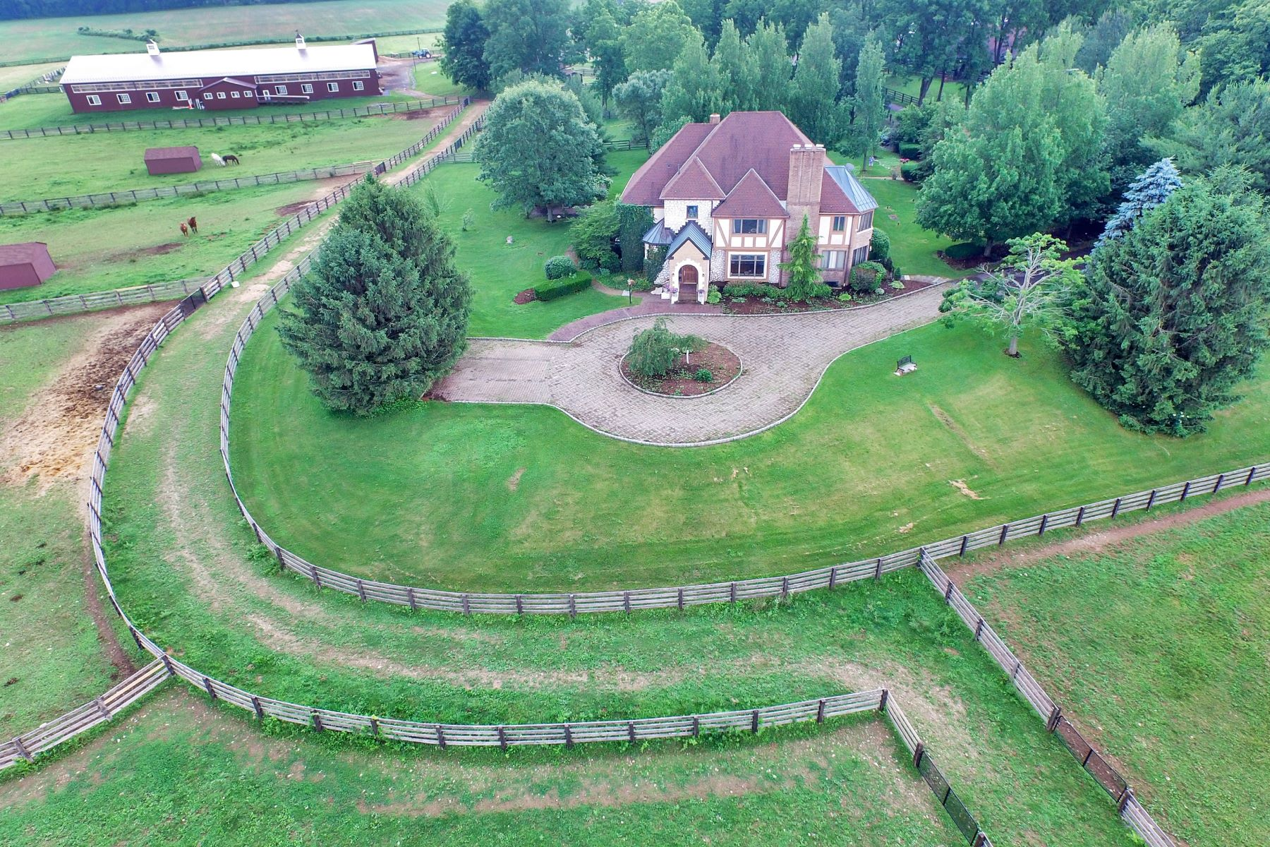 Single Family Home for Sale at Equestrian Estate 160 Esposito Road Harmony Township, New Jersey, 08865 United States