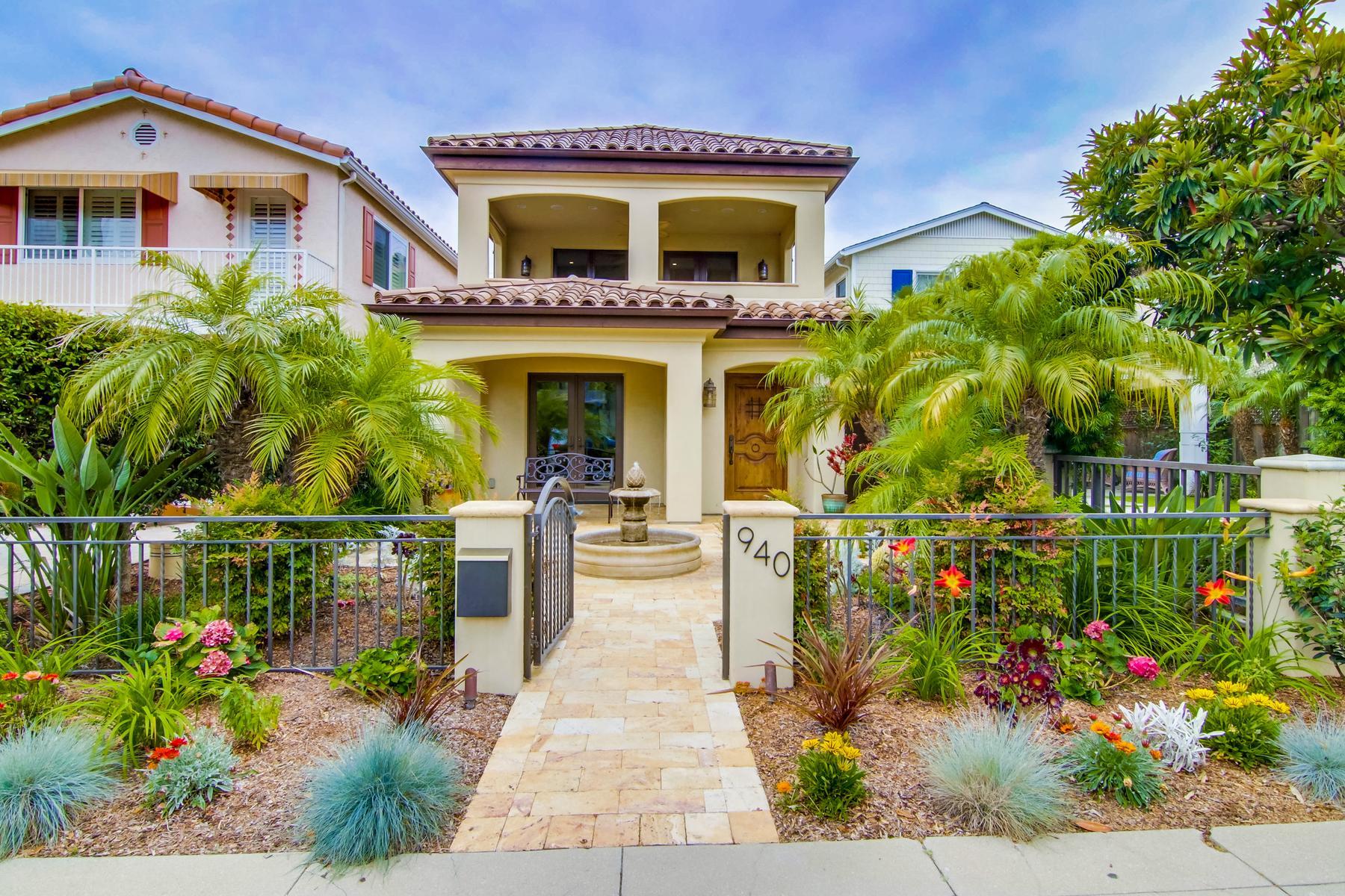 Vivienda unifamiliar por un Venta en 940 B Avenue Coronado, California, 92118 Estados Unidos