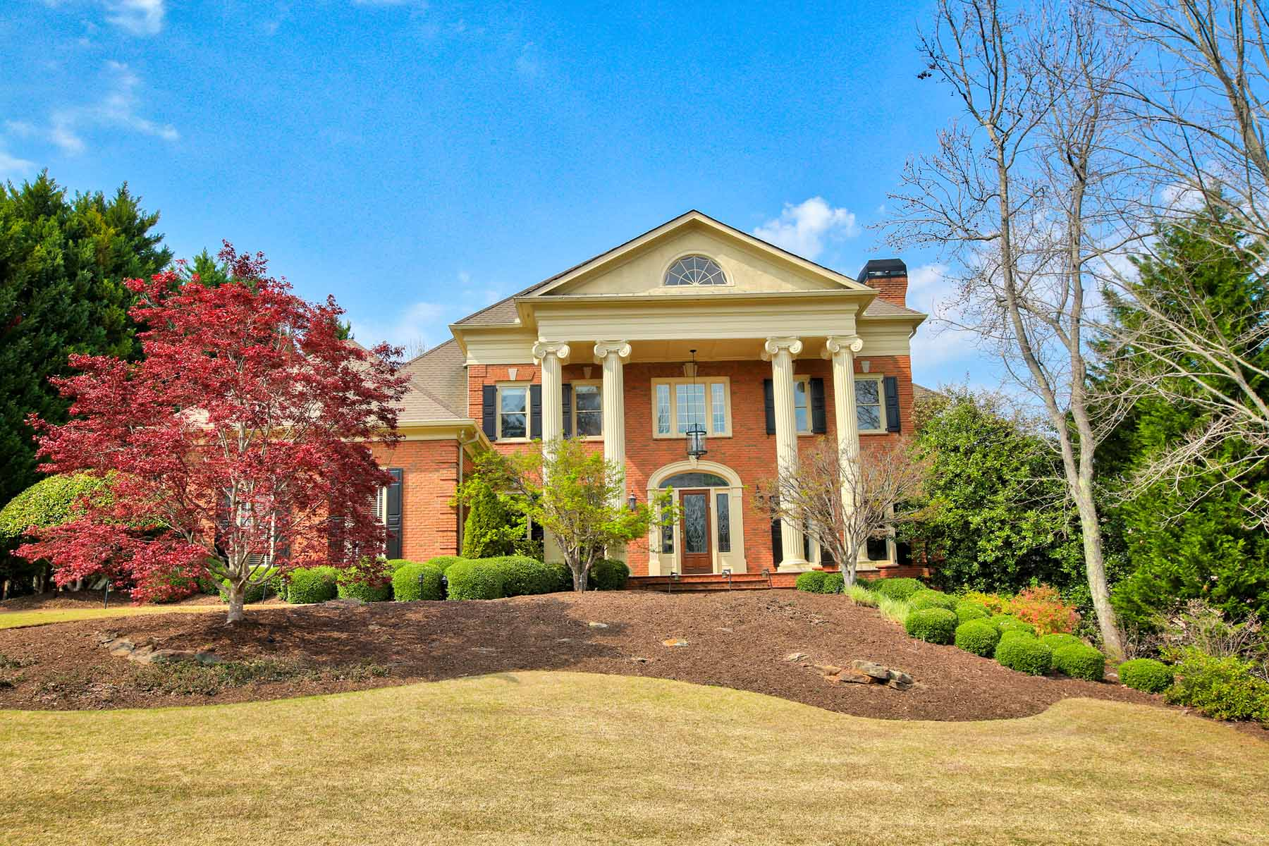 Single Family Home for Active at Stately Residence in Coveted Johns Creek 610 Falls Bay Court Johns Creek, Georgia 30022 United States