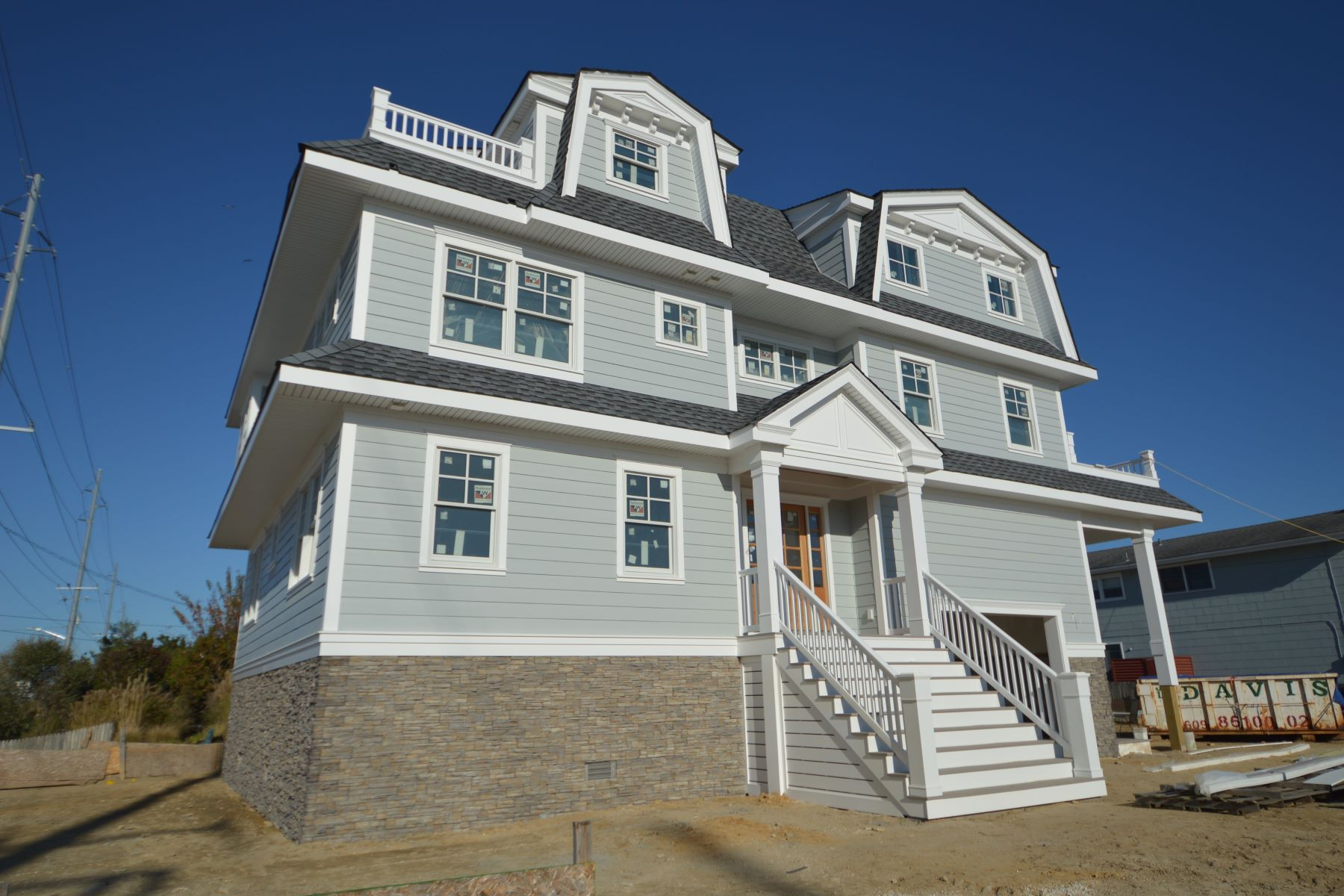 Single Family Homes por un Venta en New Construction on a Corner Lot 291 44th Street Avalon, Nueva Jersey 08202 Estados Unidos
