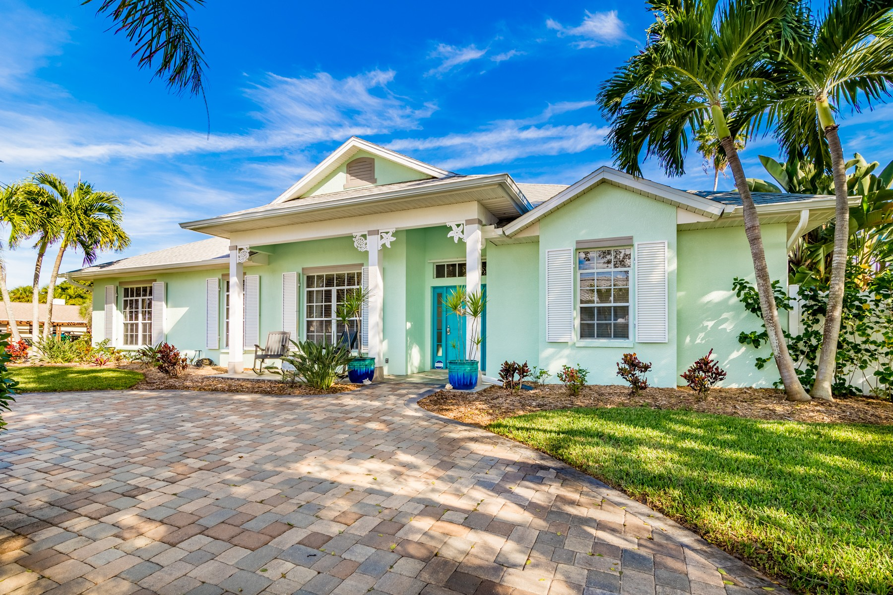 Single Family Home for Sale at Pristine, larger home of Melbourne Beach 413 Surf Road Melbourne Beach, Florida 32951 United States