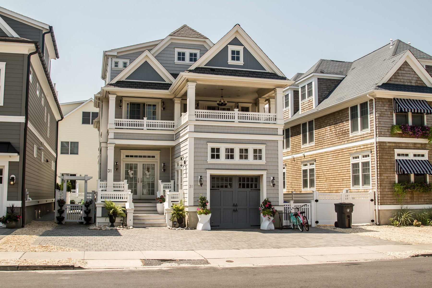 Single Family Homes for Sale at Custom Built Beach Block Home 31 5th Avenue Normandy Beach, New Jersey 08739 United States