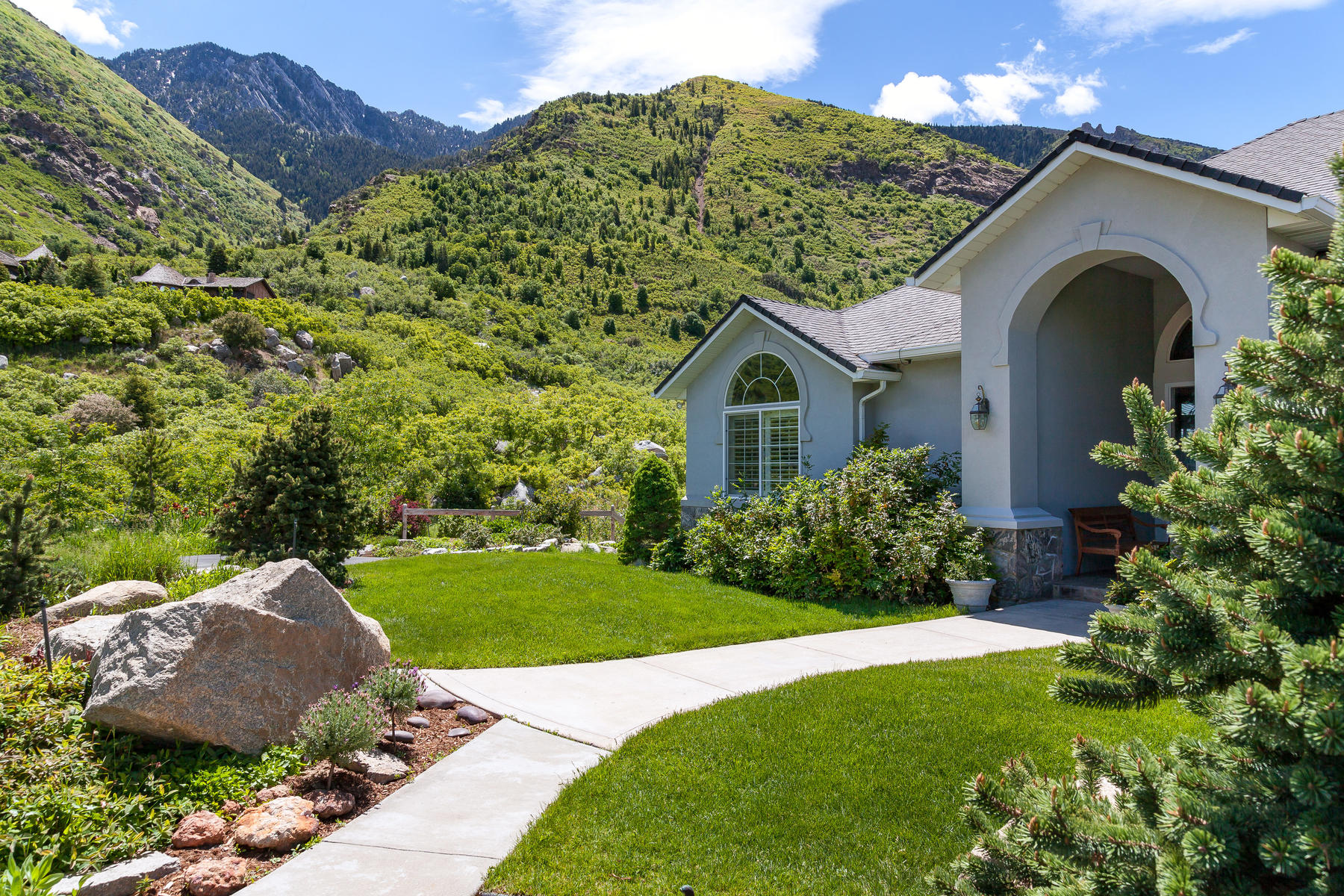 Single Family Homes for Sale at Picturesque Five Acre Estate 11489 S Oberland Rd, Sandy, Utah 84092 United States