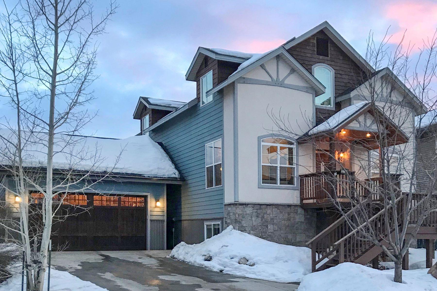 واحد منزل الأسرة للـ Sale في Contemporary Mountain Home 2739 Abbey Road, Steamboat Springs, Colorado, 80487 United States