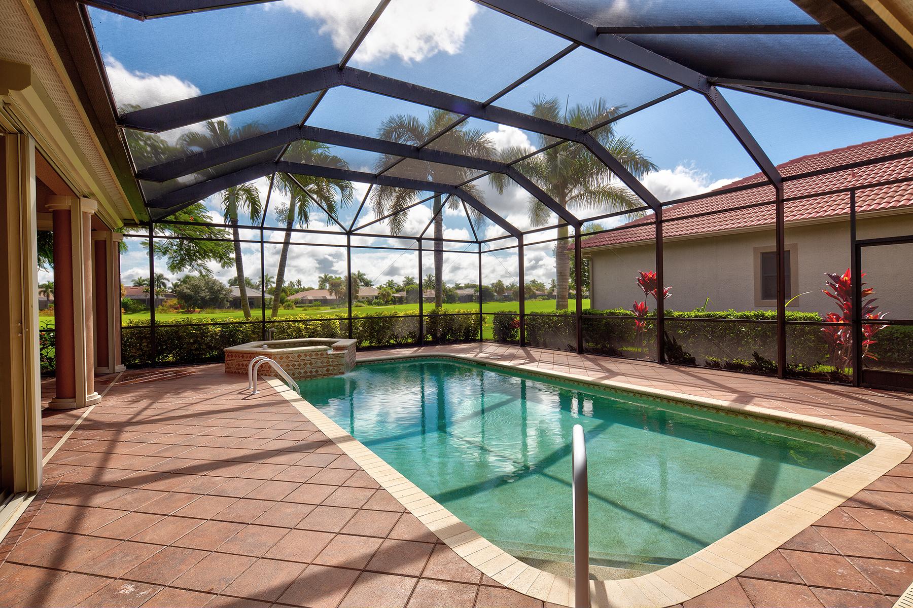 Single Family Homes por un Venta en PALMIRA GOLF AND COUNTRY CLUB - Villa Tuscany 28497 Azzili Way Bonita Springs, Florida 34135 Estados Unidos
