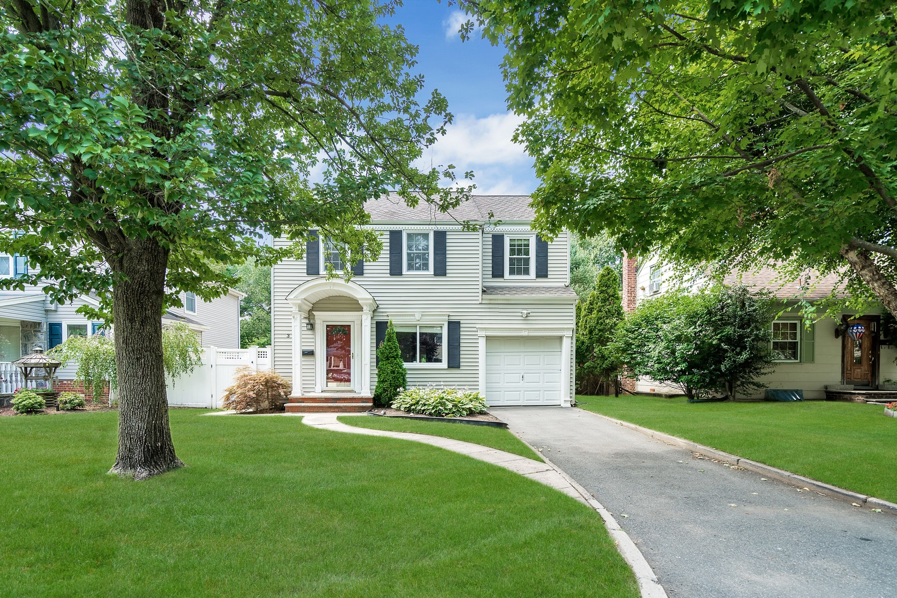 Single Family Home for Sale at A Beautiful Renovated Center Hall Colonial. 399 Terhune Avenue, Paramus, New Jersey 07452 United States