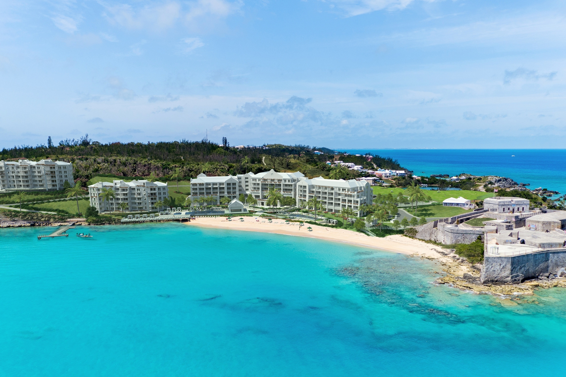 Condominiums for Sale at The Residences at St. Regis Bermuda Unit 1A St. Catherine's Beach Other Bermuda, Other Areas In Bermuda GE03 Bermuda