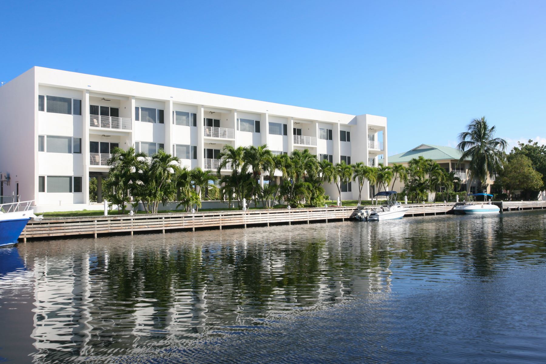 Condominium for Rent at Palm Heights Residences top floor rental Snug Harbour, Cayman Islands