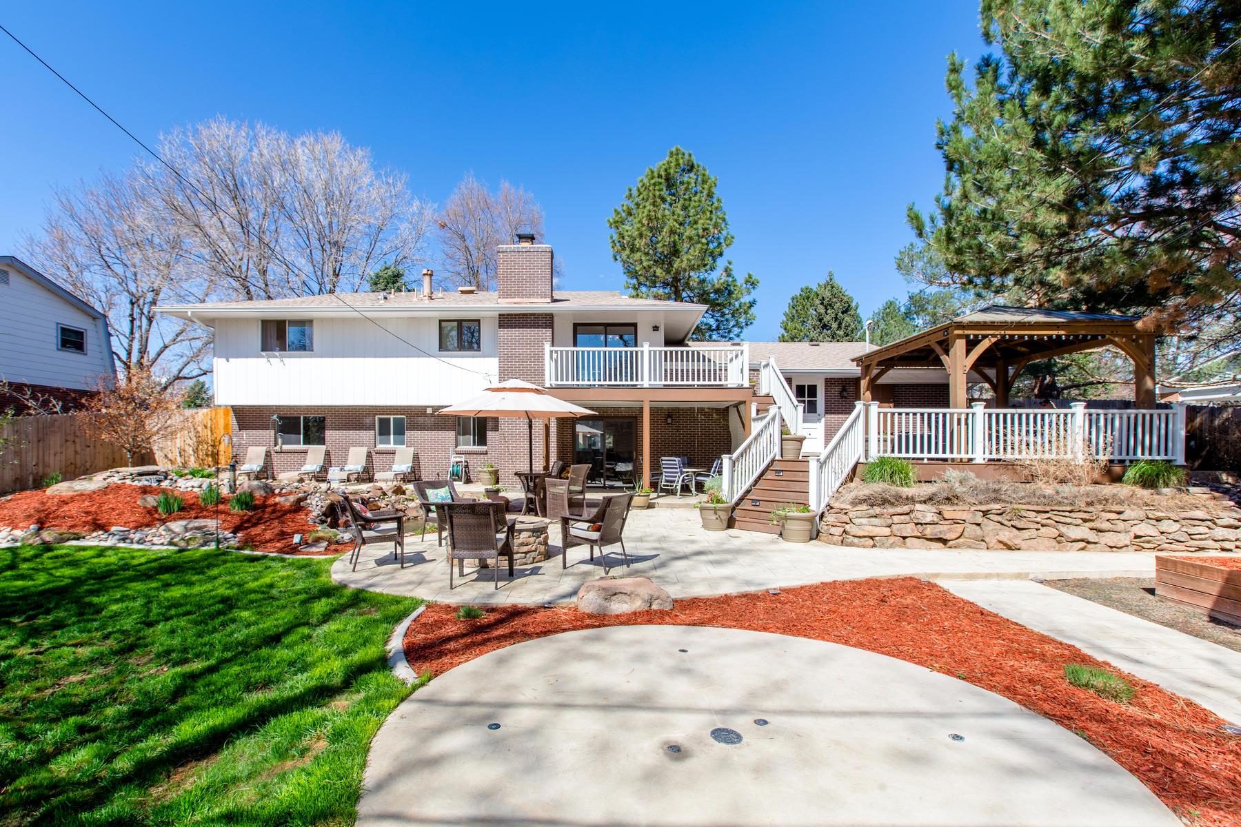 Single Family Homes для того Продажа на Exceptional Mid-Century Stunner on a Premiere Lot 1164 Par Road, Broomfield, Колорадо 80020 Соединенные Штаты