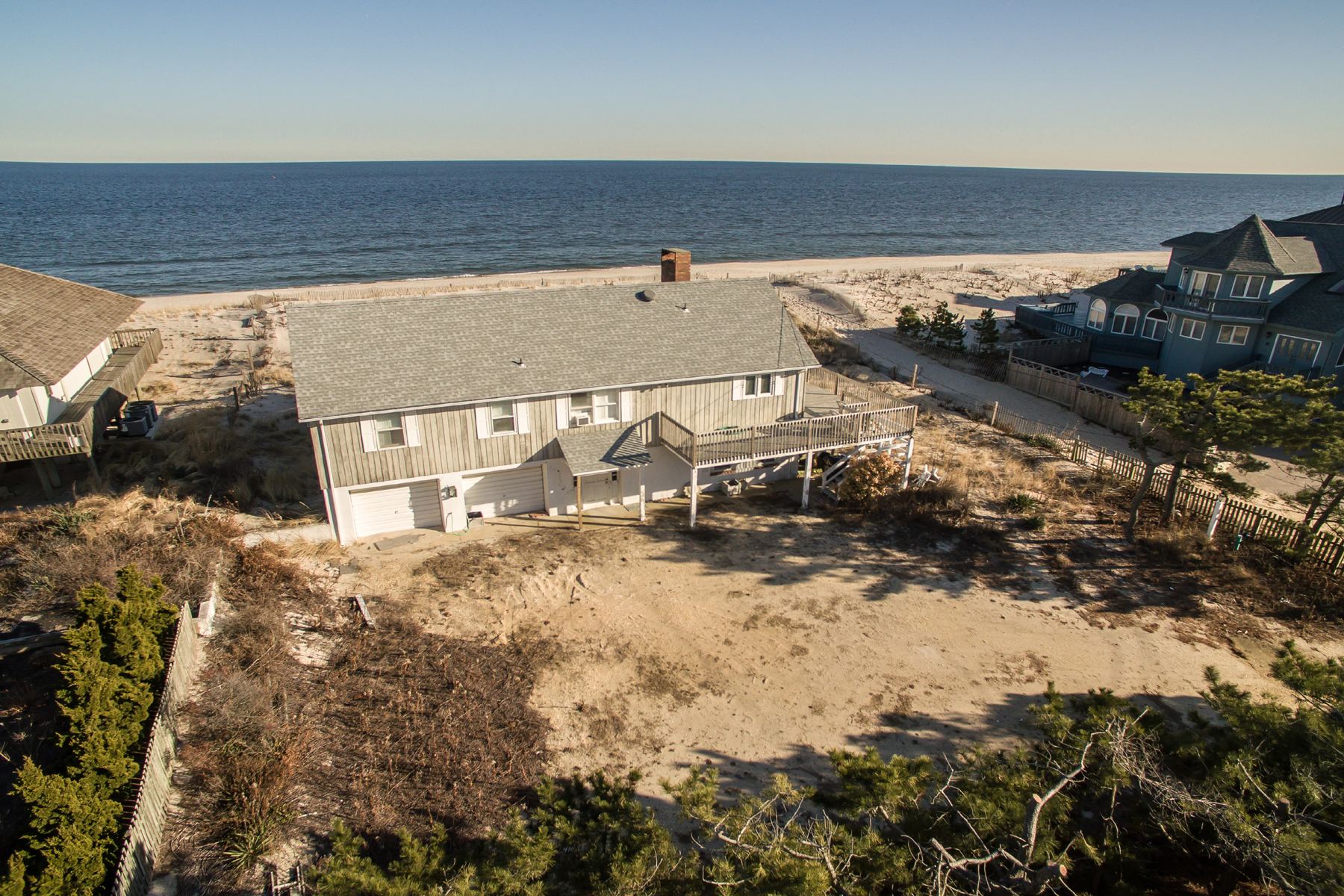 Single Family Home for Sale at Spectacular Over-sized Oceanfront Property 101 Faber Lane, Mantoloking, New Jersey 08738 United States