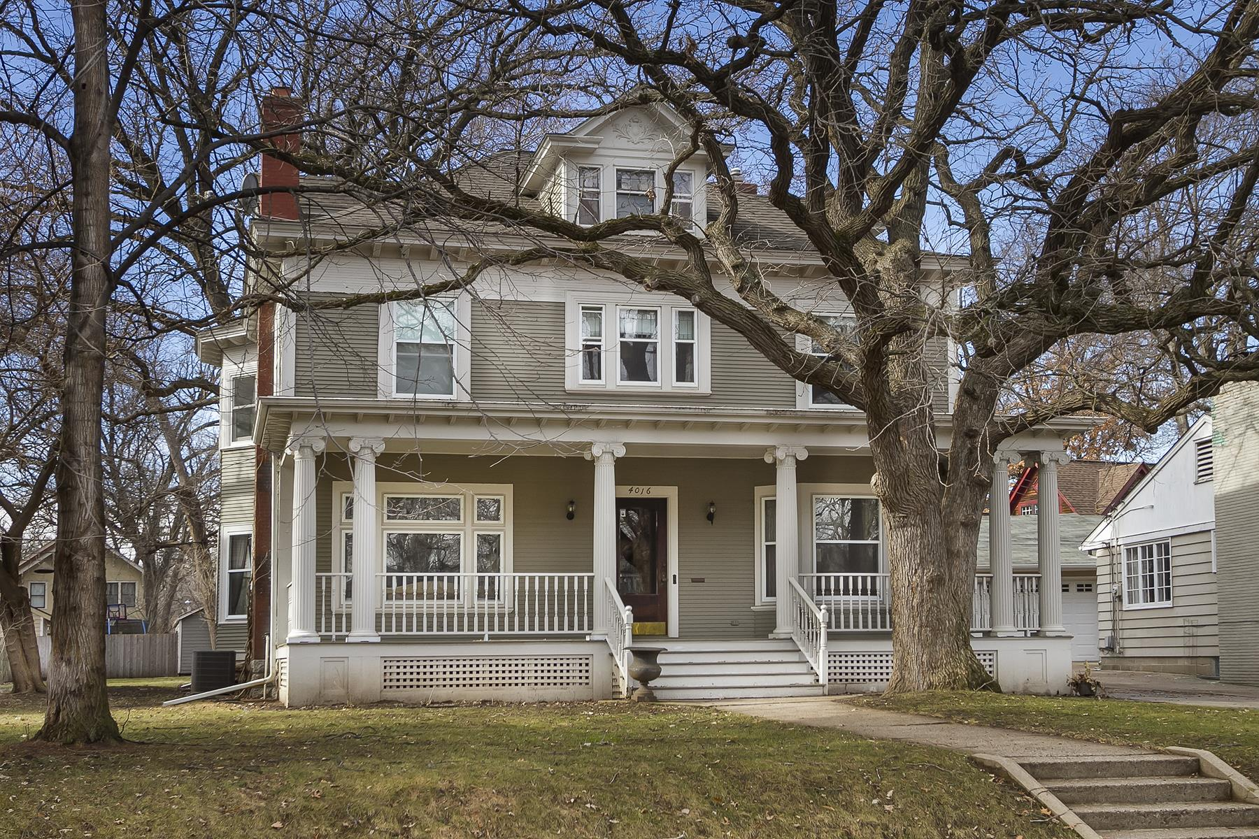 Single Family Home for Sale at 4016 Linden Hills Boulevard Linden Hills, Minneapolis, Minnesota, 55410 United States