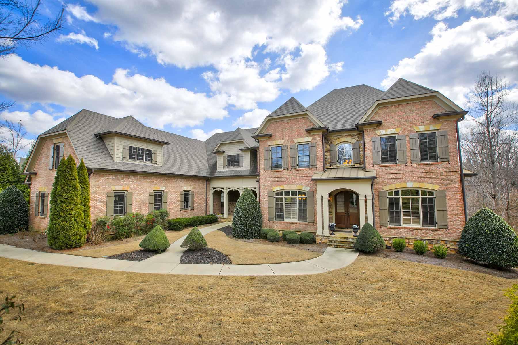 独户住宅 为 销售 在 Custom Beauty in Overlook at Litchfield 13142 Overlook Pass 罗斯威尔, 乔治亚州, 30075 美国