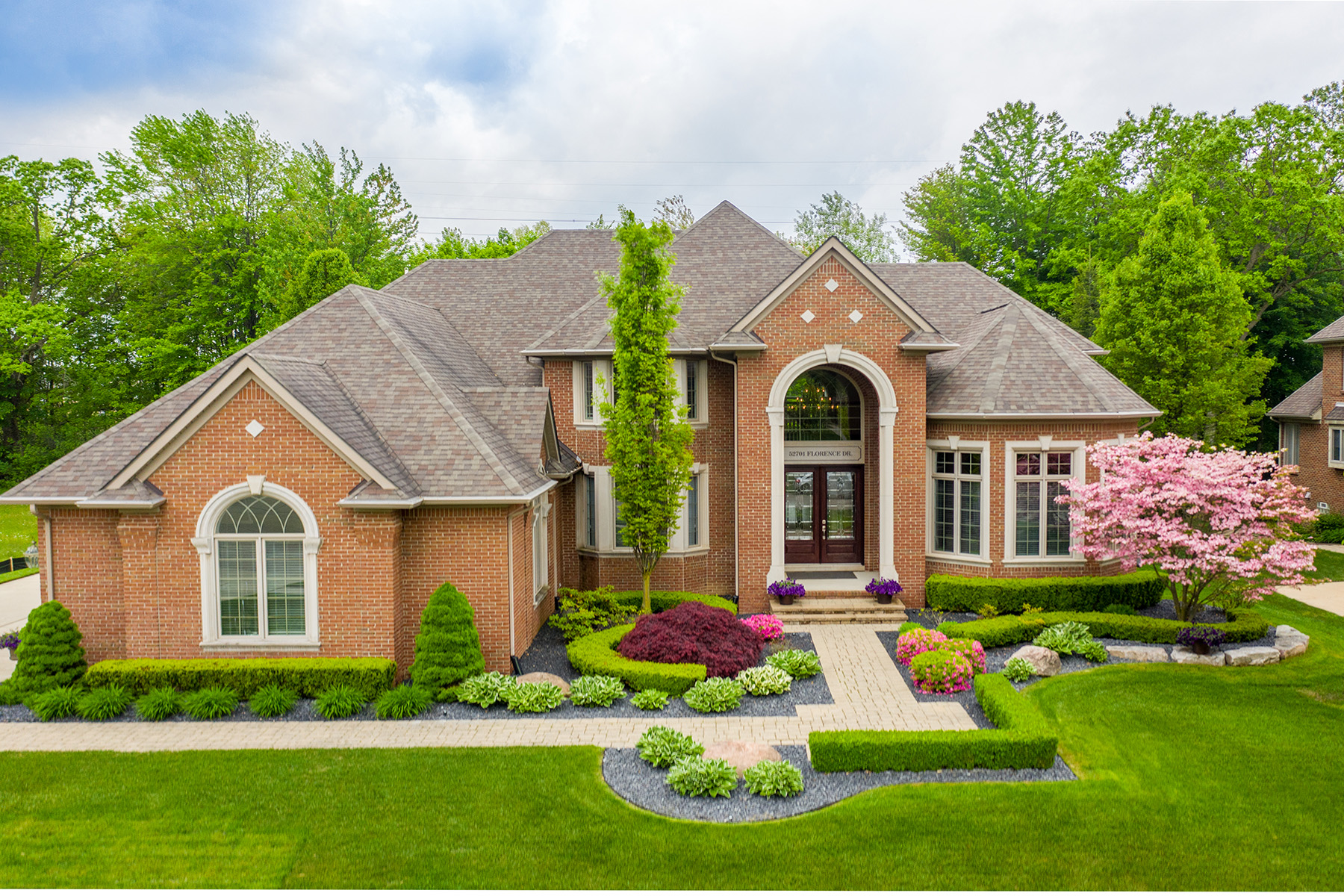 Single Family Homes for Sale at Shelby Township 52701 Florence Drive Shelby Township, Michigan 48315 United States