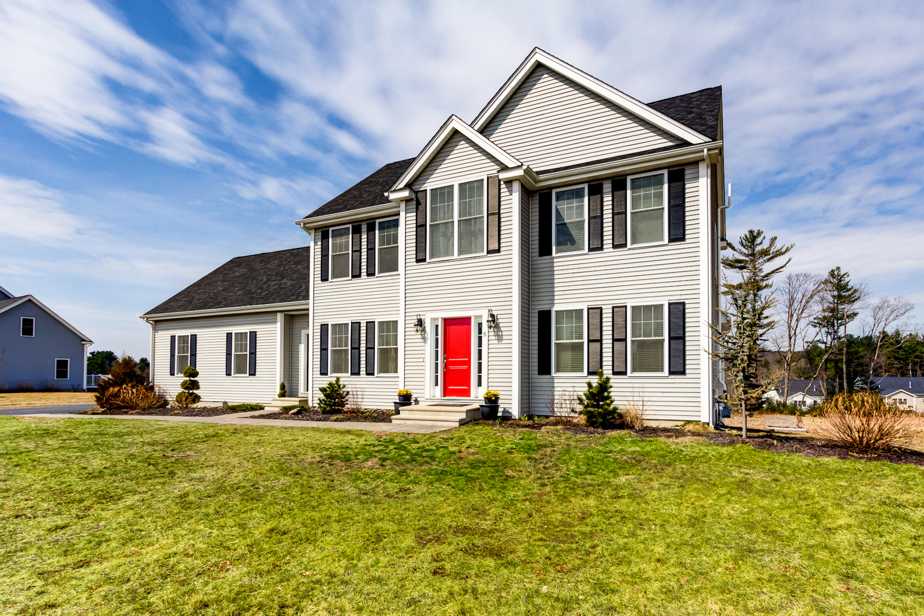 Single Family Home for Active at Inspiring Colonial - Compass Point 5 Compass Circle Boylston, Massachusetts 01505 United States