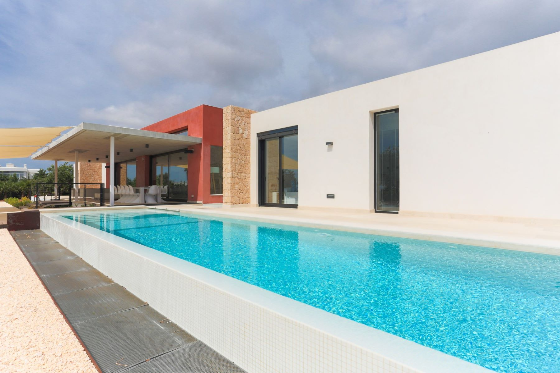 Single Family Home for Sale at Modern Luxury Villa On A Plot With Sea Views Ibiza, Balearic Islands, Spain