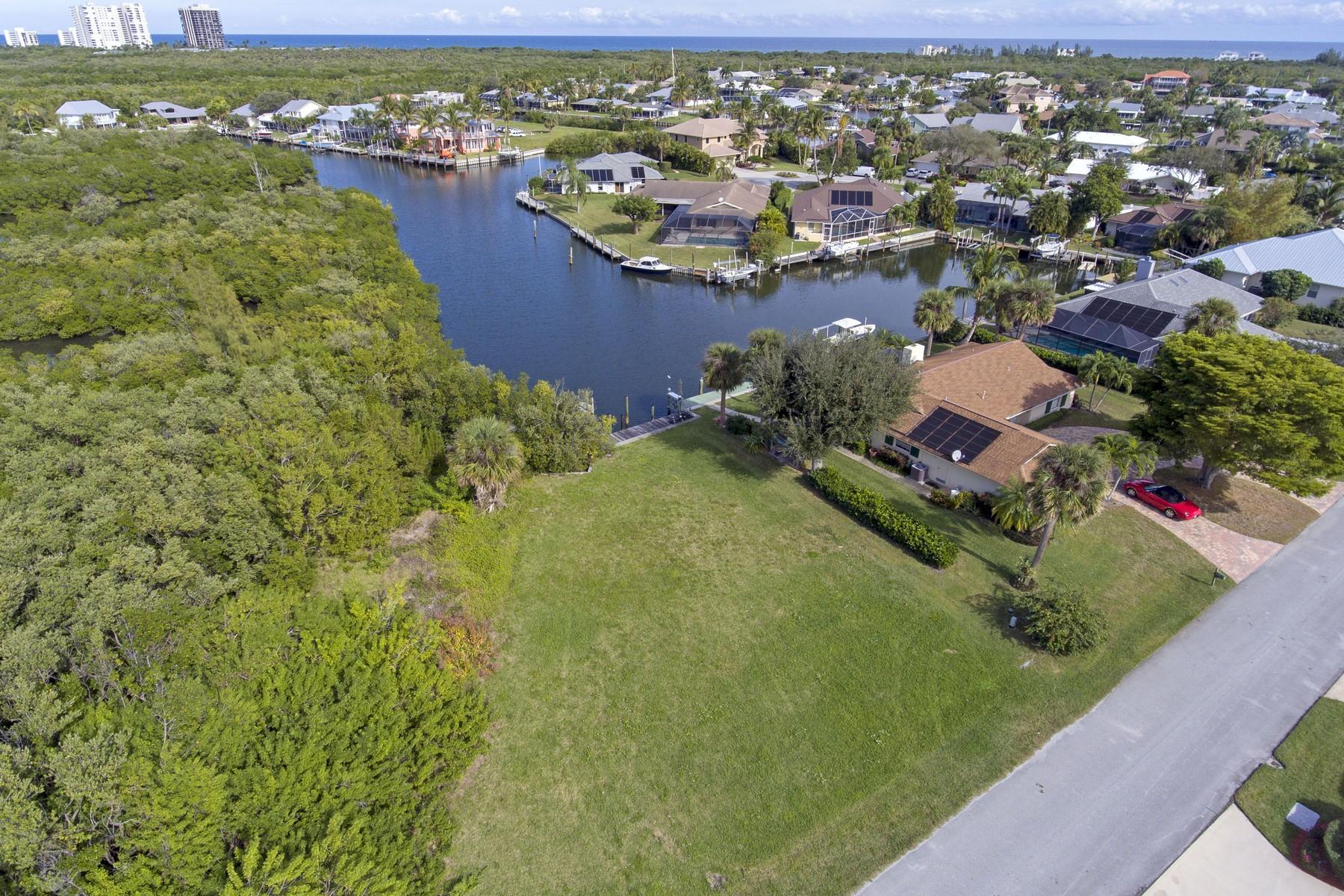 Land voor Verkoop op Queen's Cove Homesite 38 Sovereign Court Fort Pierce, Florida 34949 Verenigde Staten