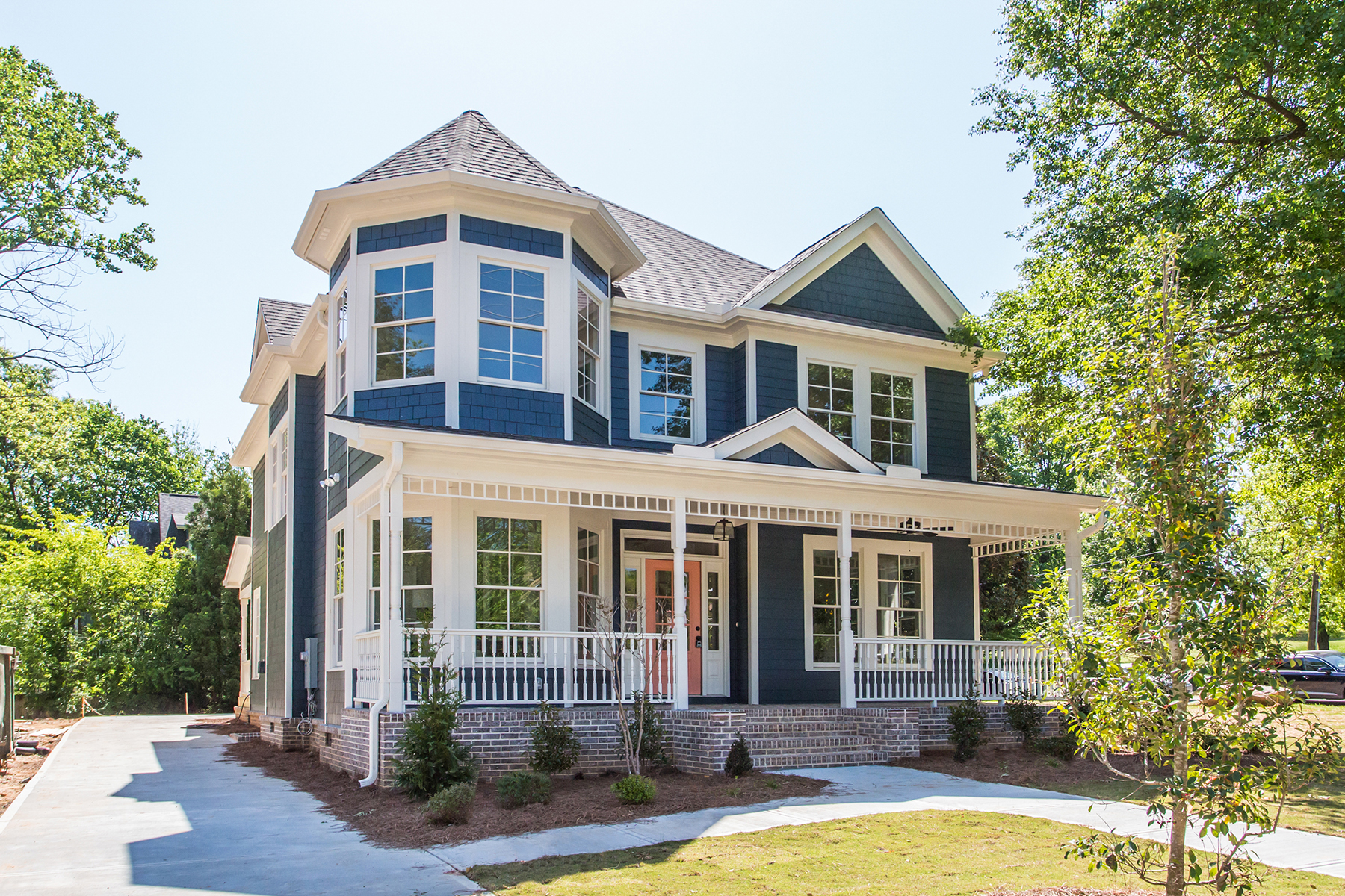 Single Family Home for Sale at Light-Filled Modern Victorian in Candler Park 621 Moreland Avenue NE Atlanta, Georgia 30307 United States
