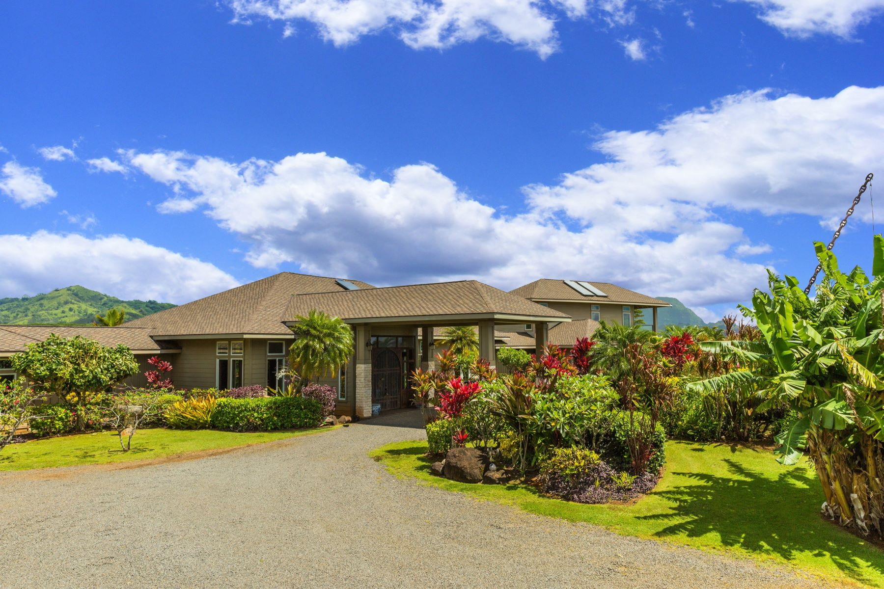 Maison unifamiliale pour l Vente à Stunning Private South Shore Ranch Estate in Omao, Kauai 4825-P Koloa Road #2A Koloa, Hawaii 96756 États-Unis